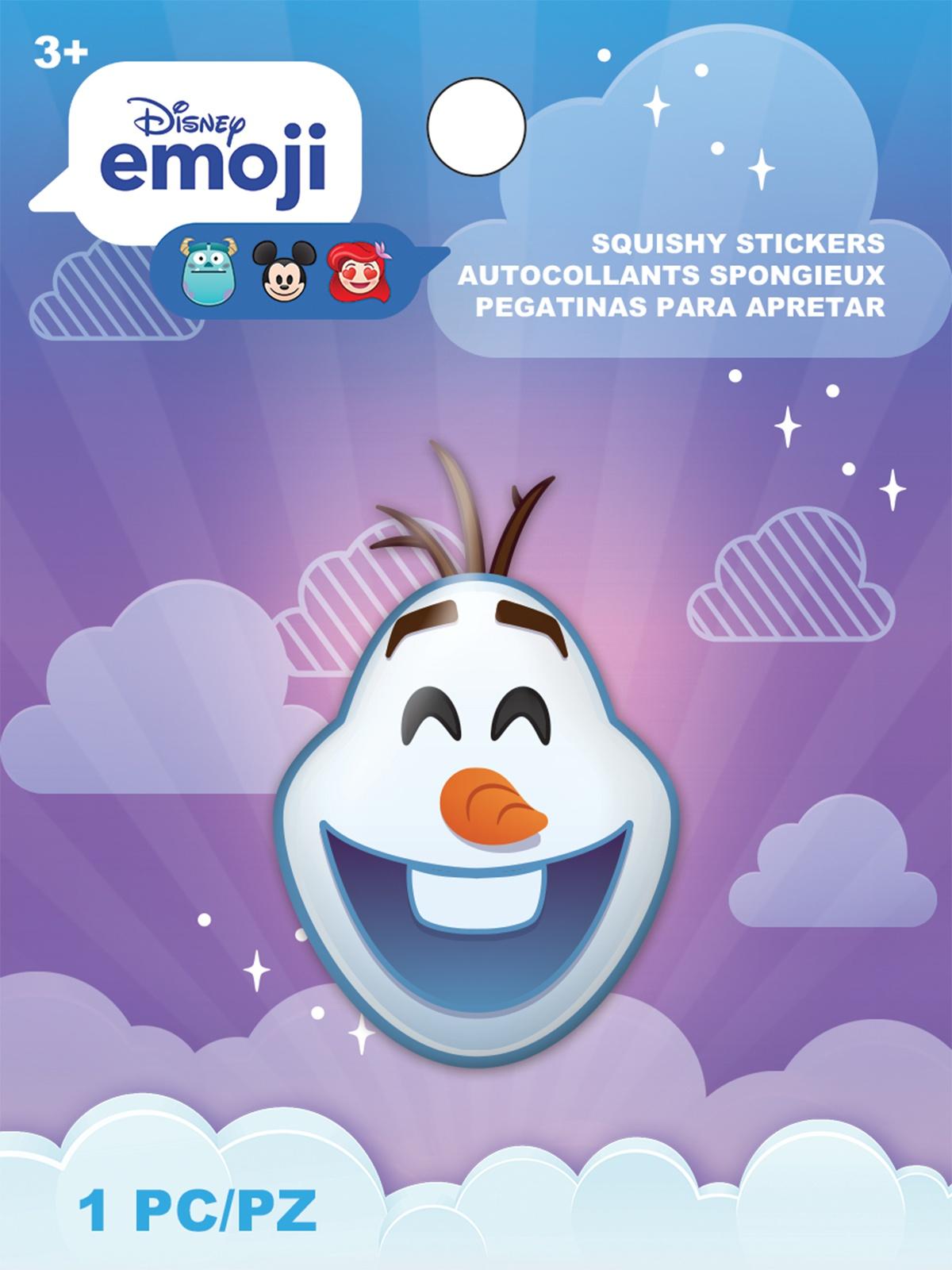 AM Squishy Emoji Stickers Olaf