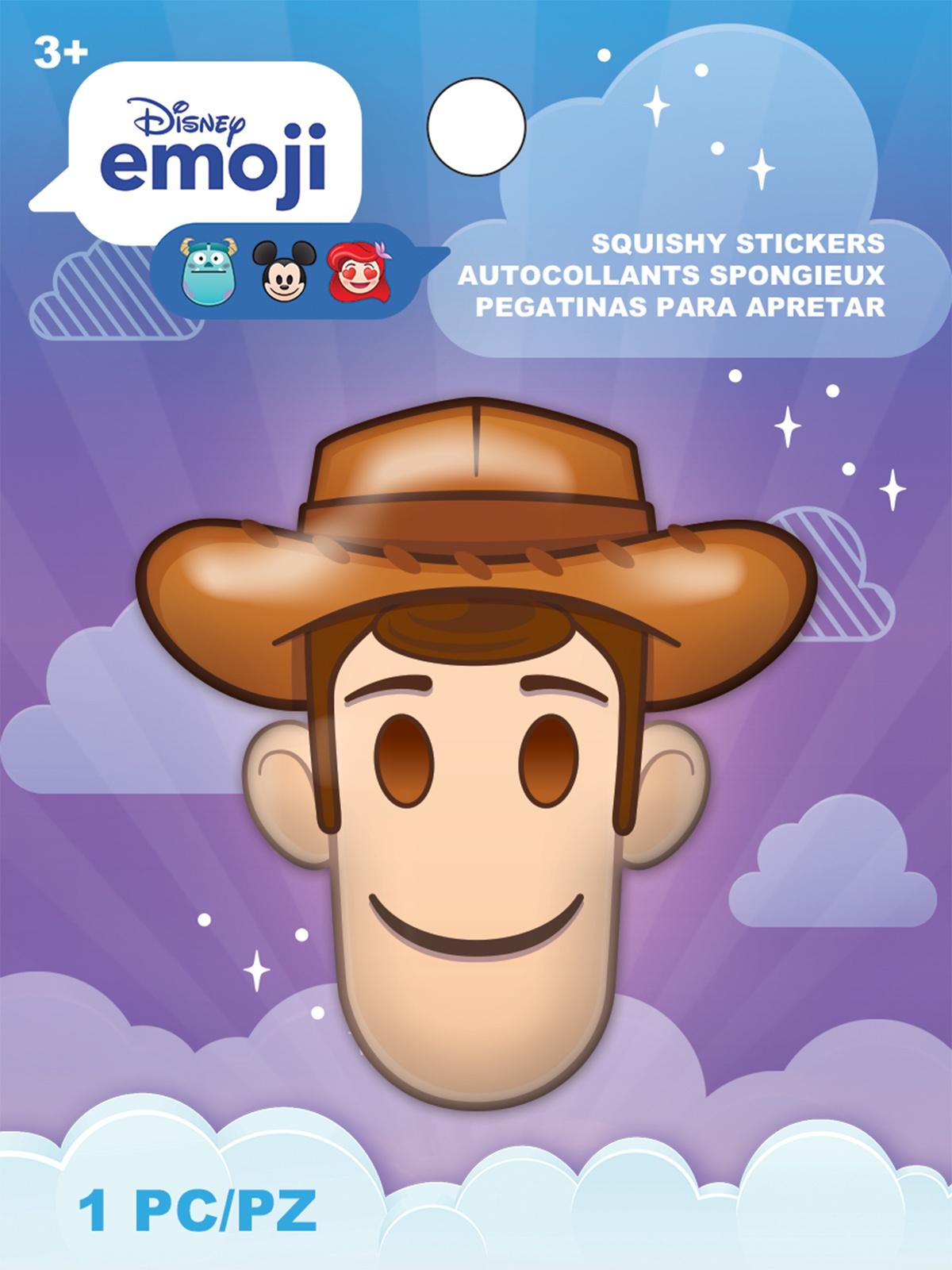 AM Squishy Emoji Stickers Woody