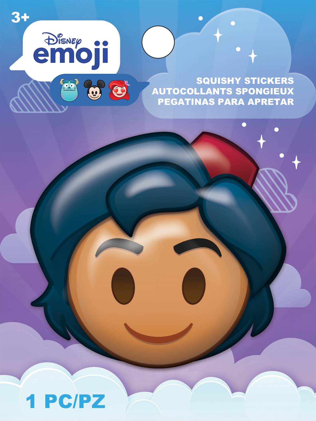 AM Squishy Emoji Stickers Aladdin