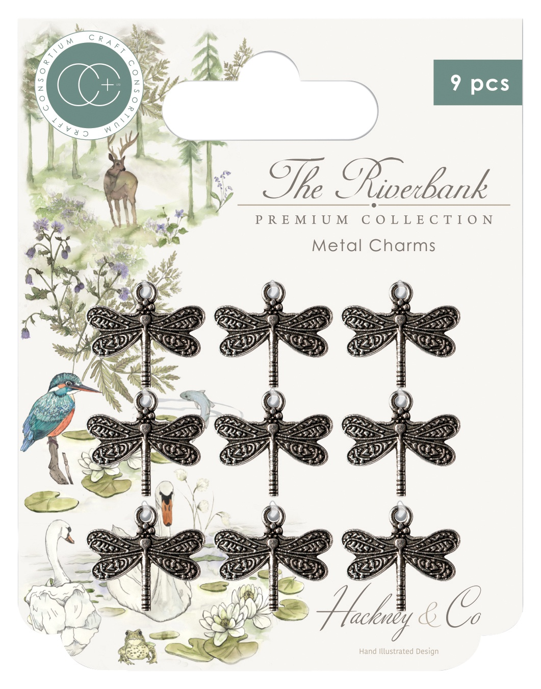 CC Dragonfly Charms