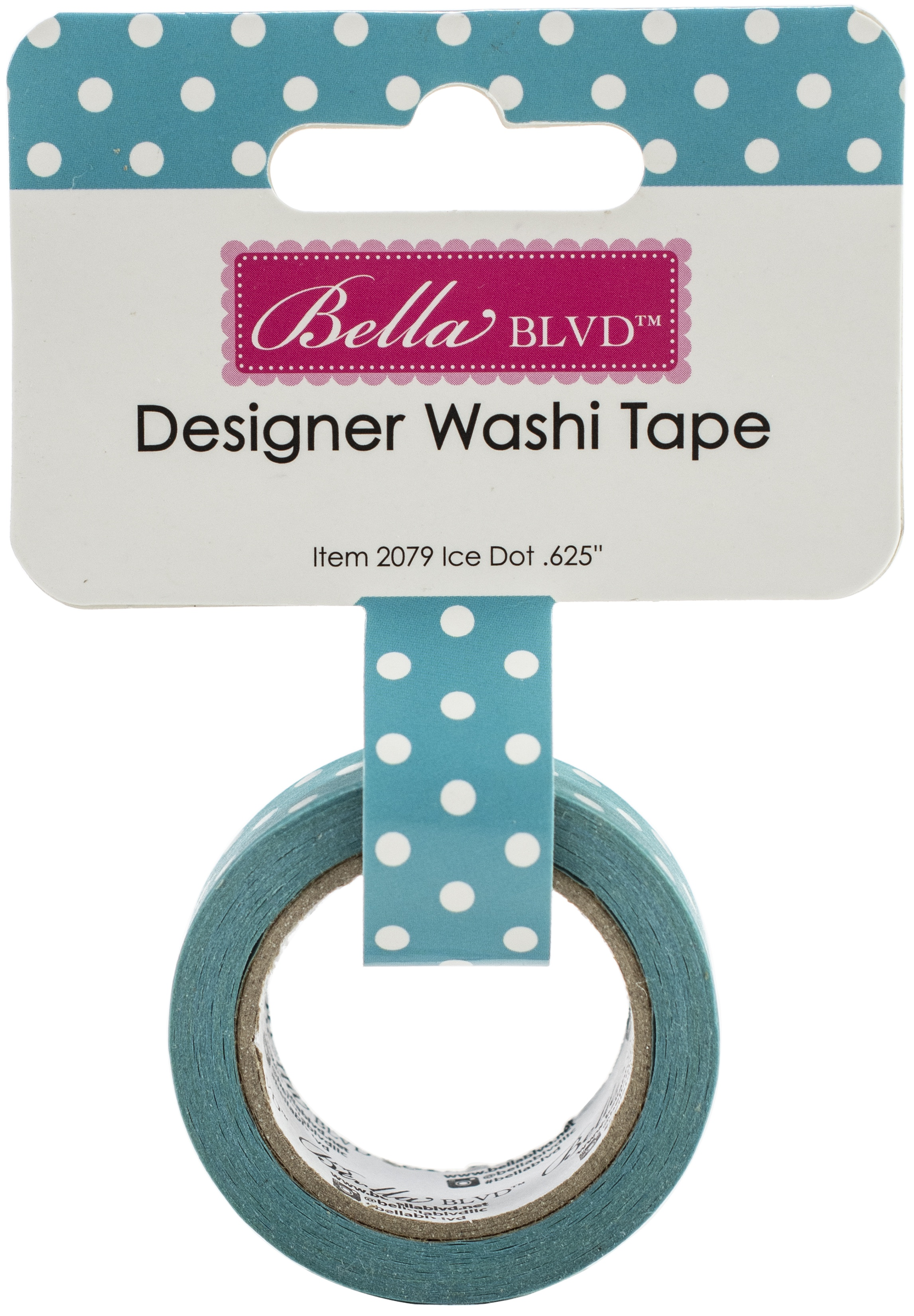 Bella Blvd - Splash Zone Designer Washi Tape - Ice Dot