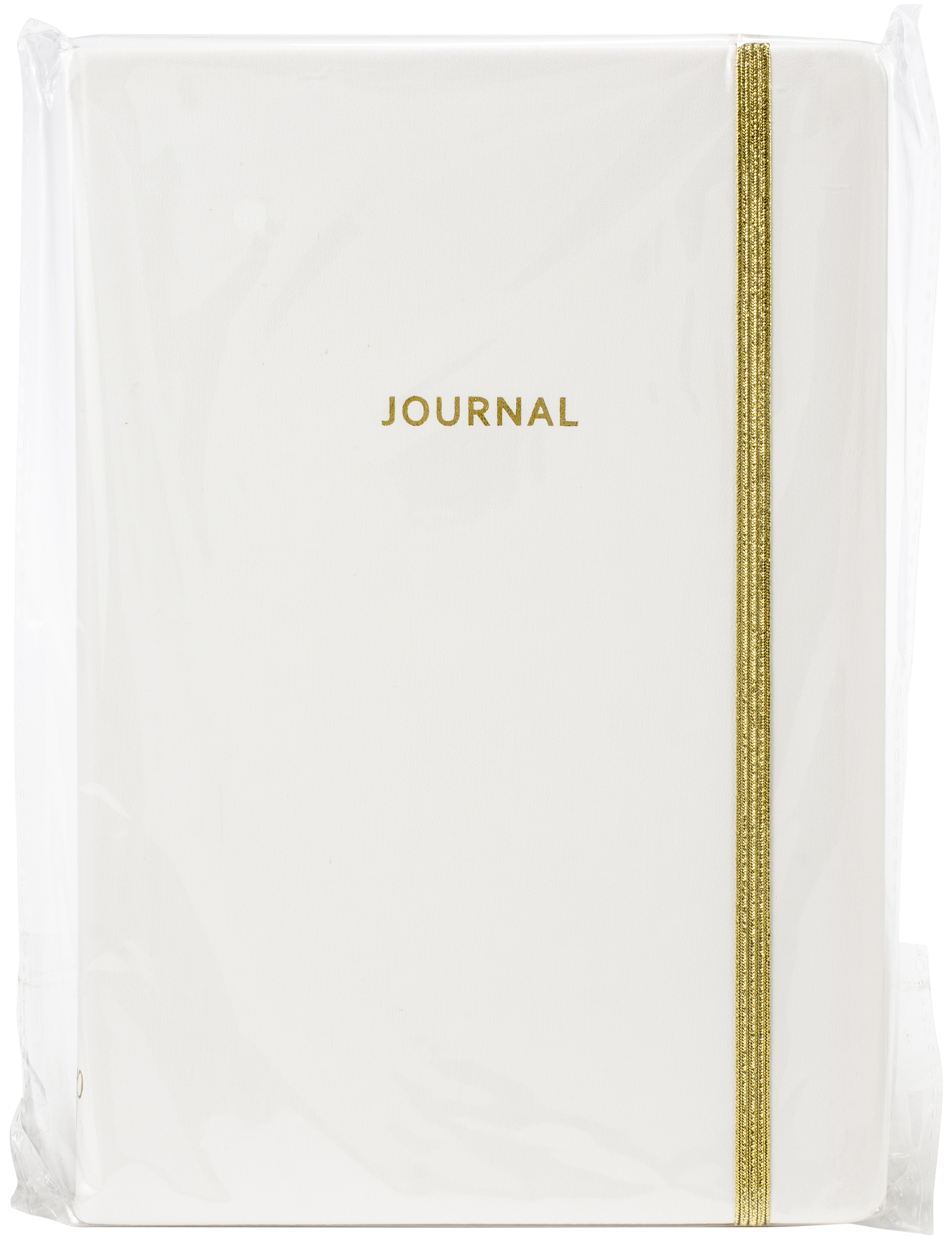 Color Crush Bullet Journal 60/Sheets-White PU Leather