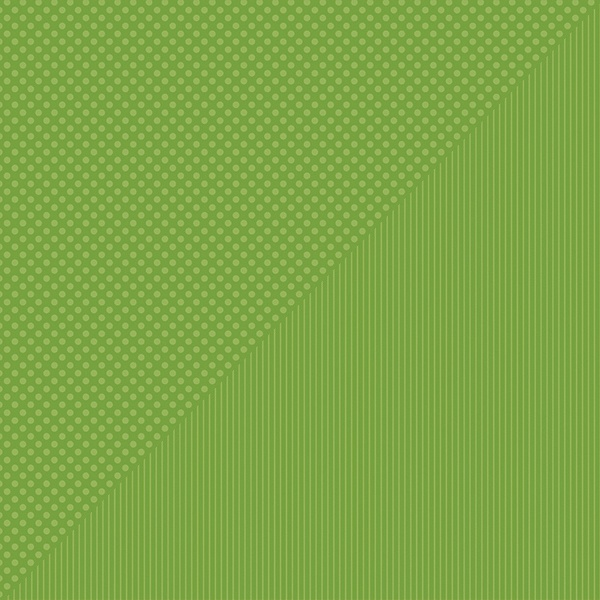Spectrum Dots/Stripes Double-Sided Cardstock 12X12-Green Thumb