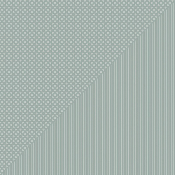 Spectrum Dots/Stripes Double-Sided Cardstock 12X12-Silver Dollar