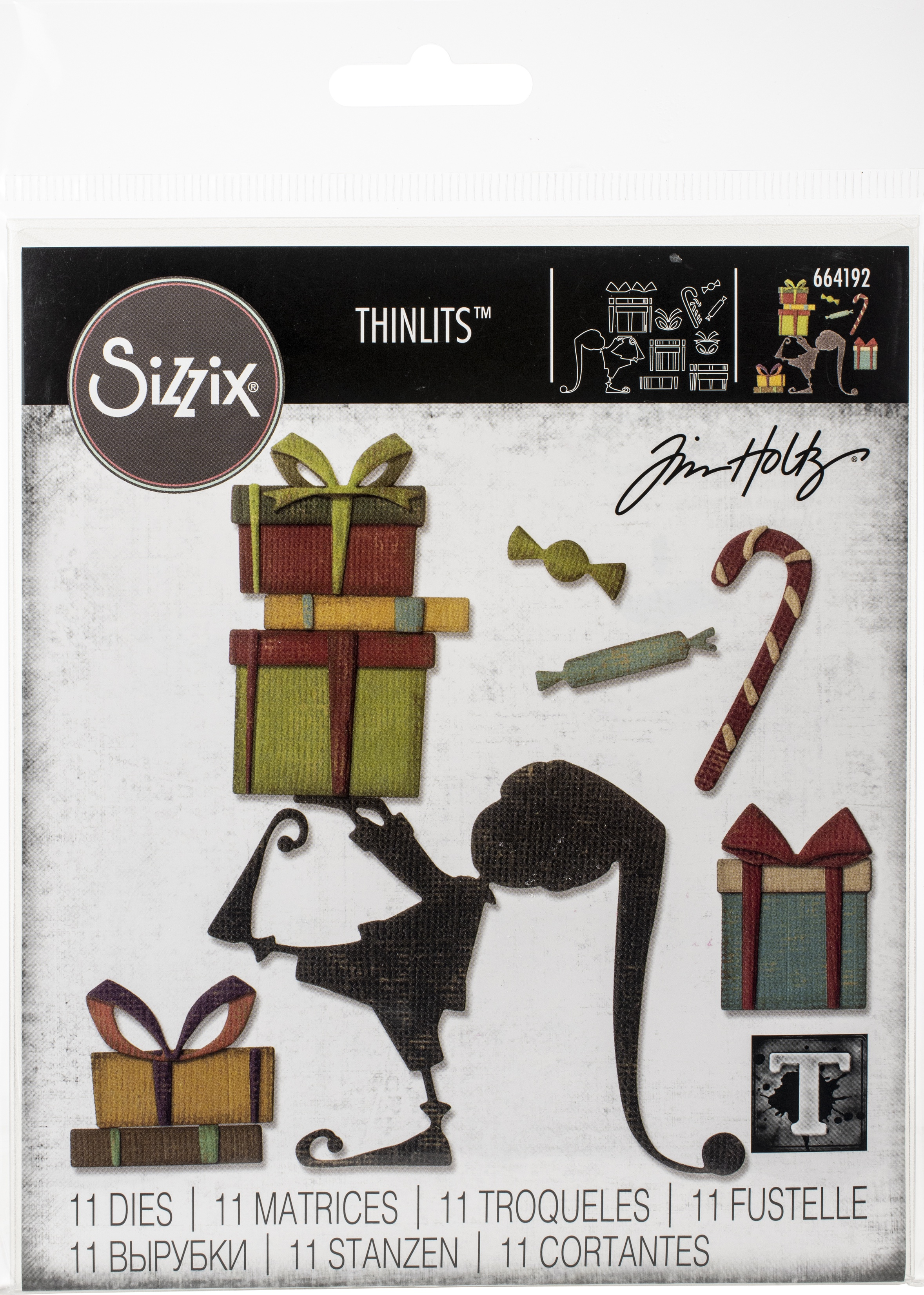 Sizzix Thinlits Tim Holtz-Santa's Helper