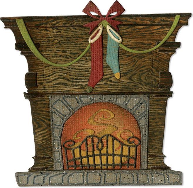 Sizzix Thinlits Dies By Tim Holtz-Fireside
