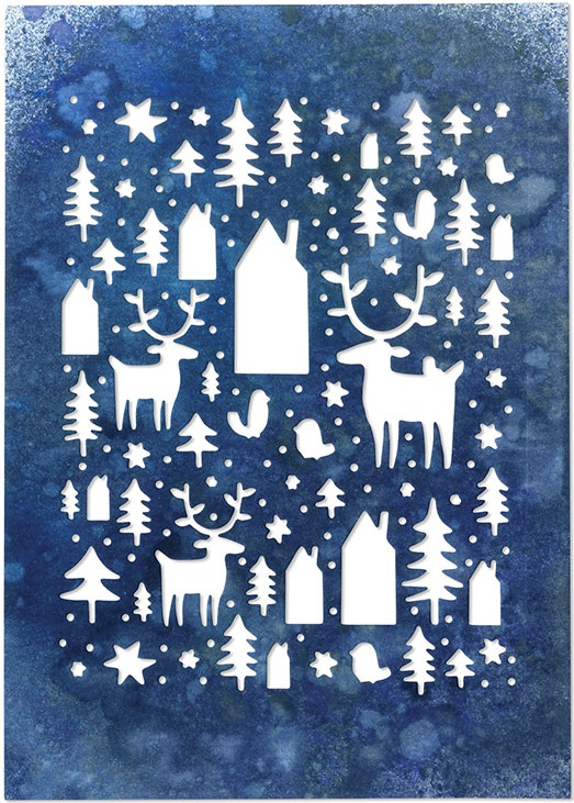 Sizzix Thinlits Dies By Tim Holtz-Nordic Winter