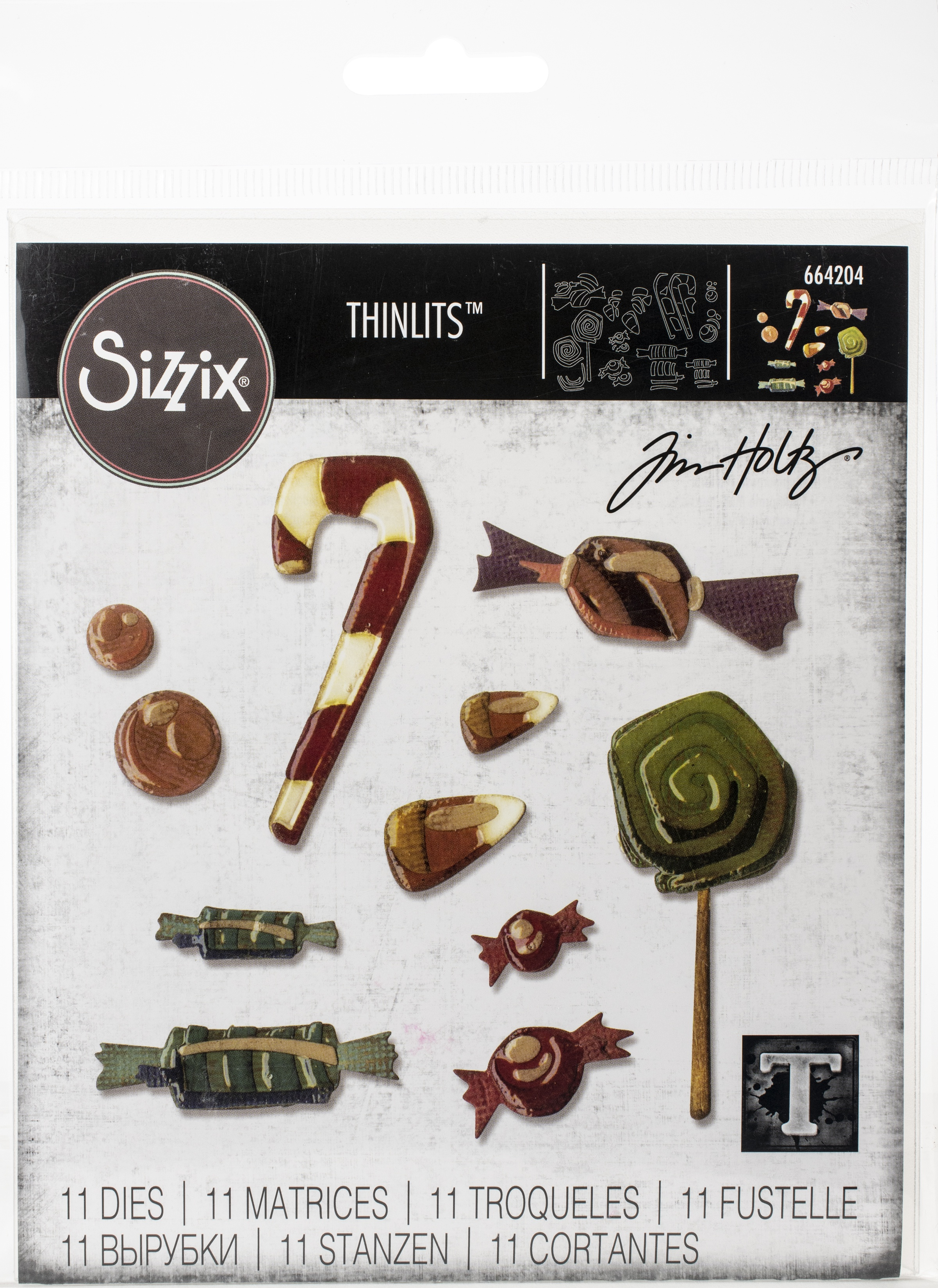 Tim Holtz - Thinlits Dies - Sweet Treats