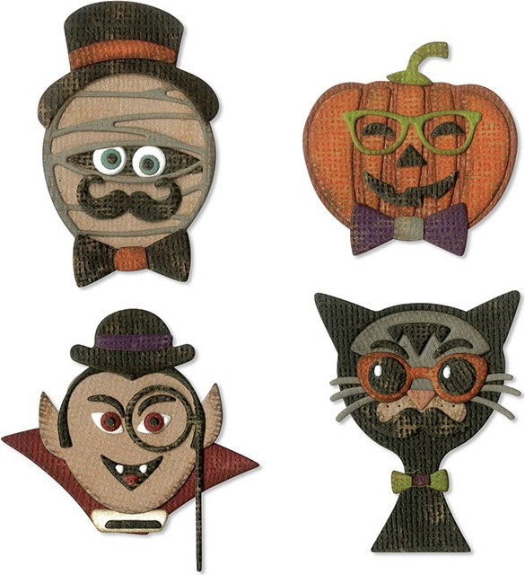 Sizzix Thinlits Dies By Tim Holtz-Hip Haunts