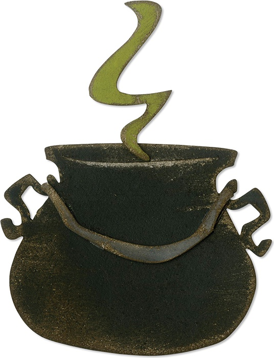 Sizzix Bigz Die By Tim Holtz-Cauldron