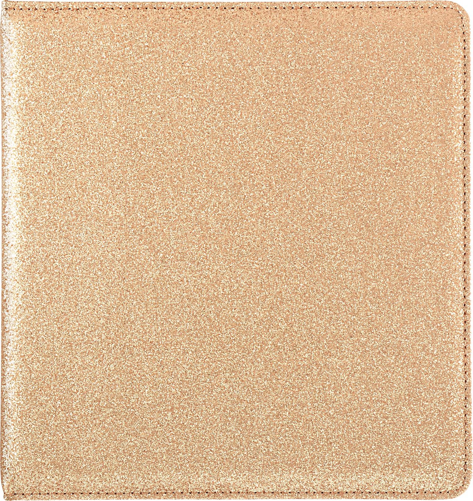 Color Crush Small Creative Photo Album 8.5X9X2-Gold Glitter