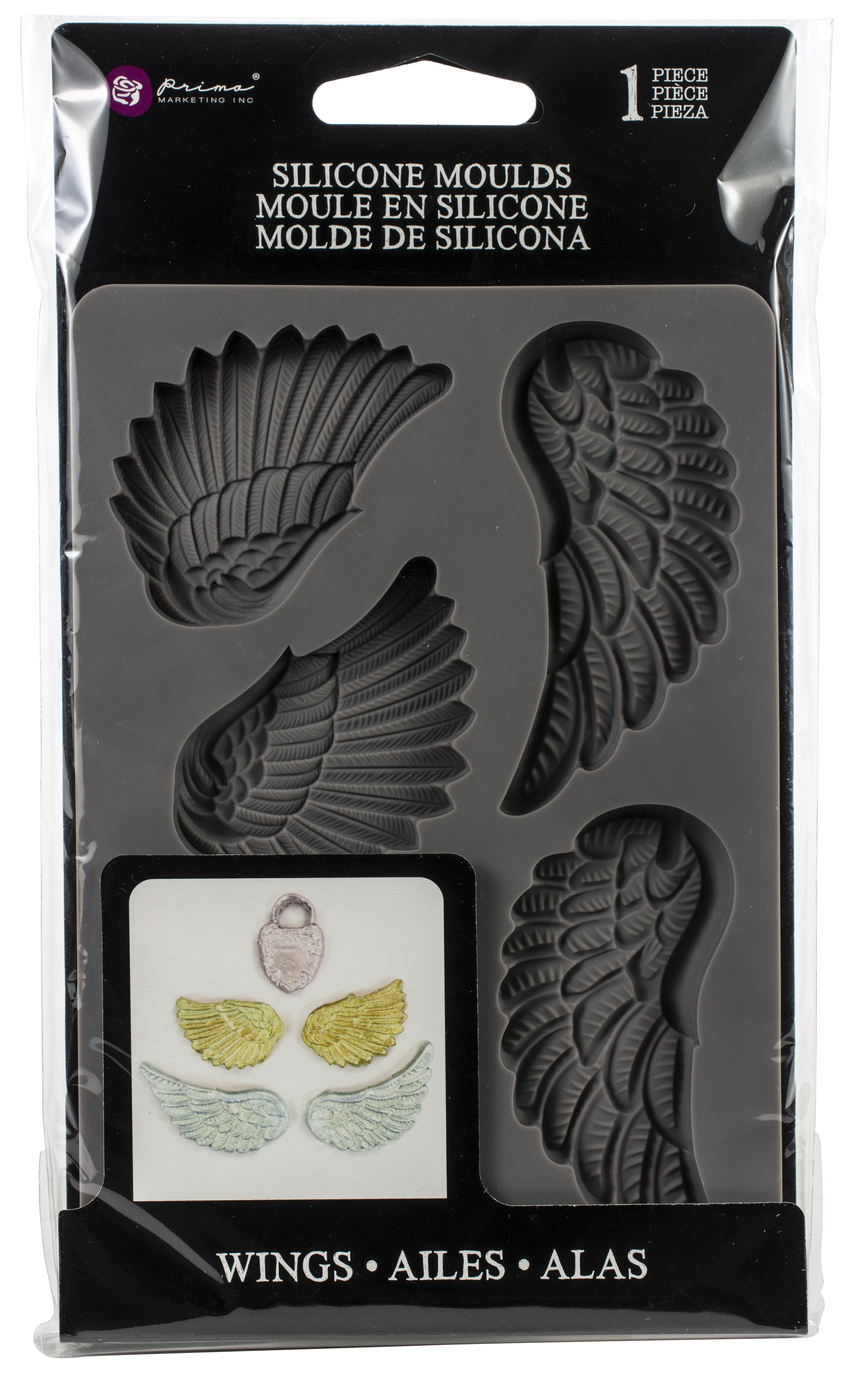 wings silicone mould