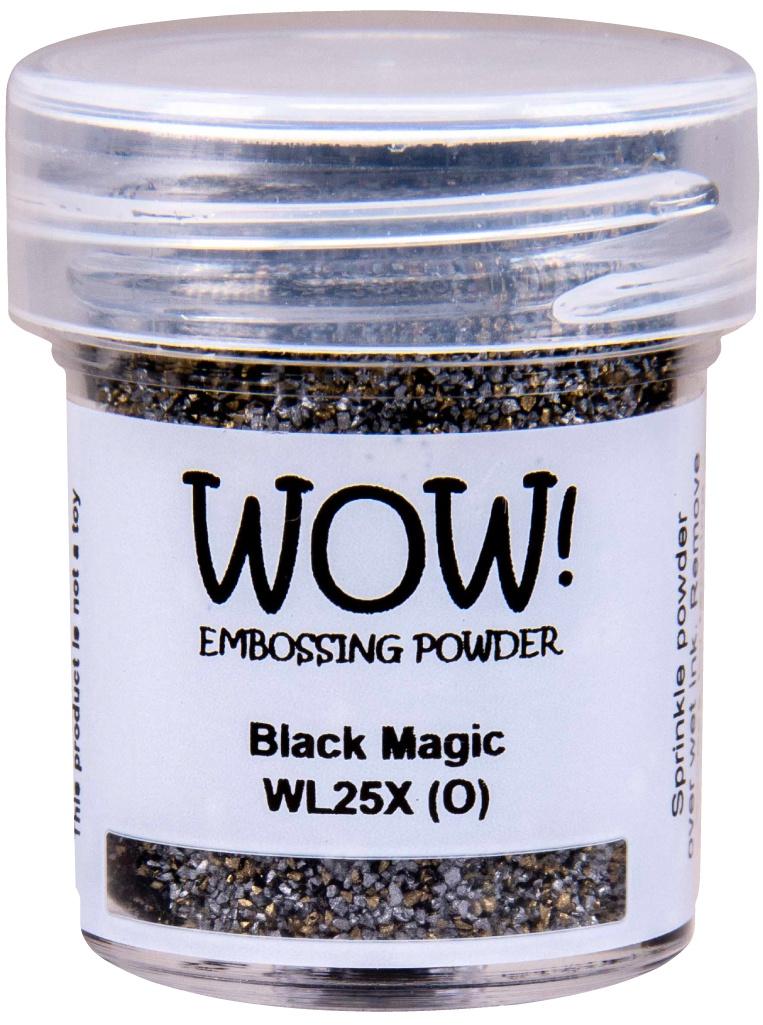 Wow! Embossing Powder - Black Magic