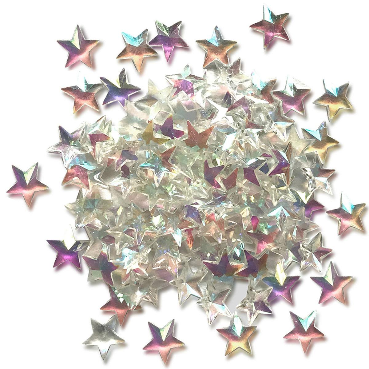 Sparkletz Embellishment Pack 10g-Crystal Stars