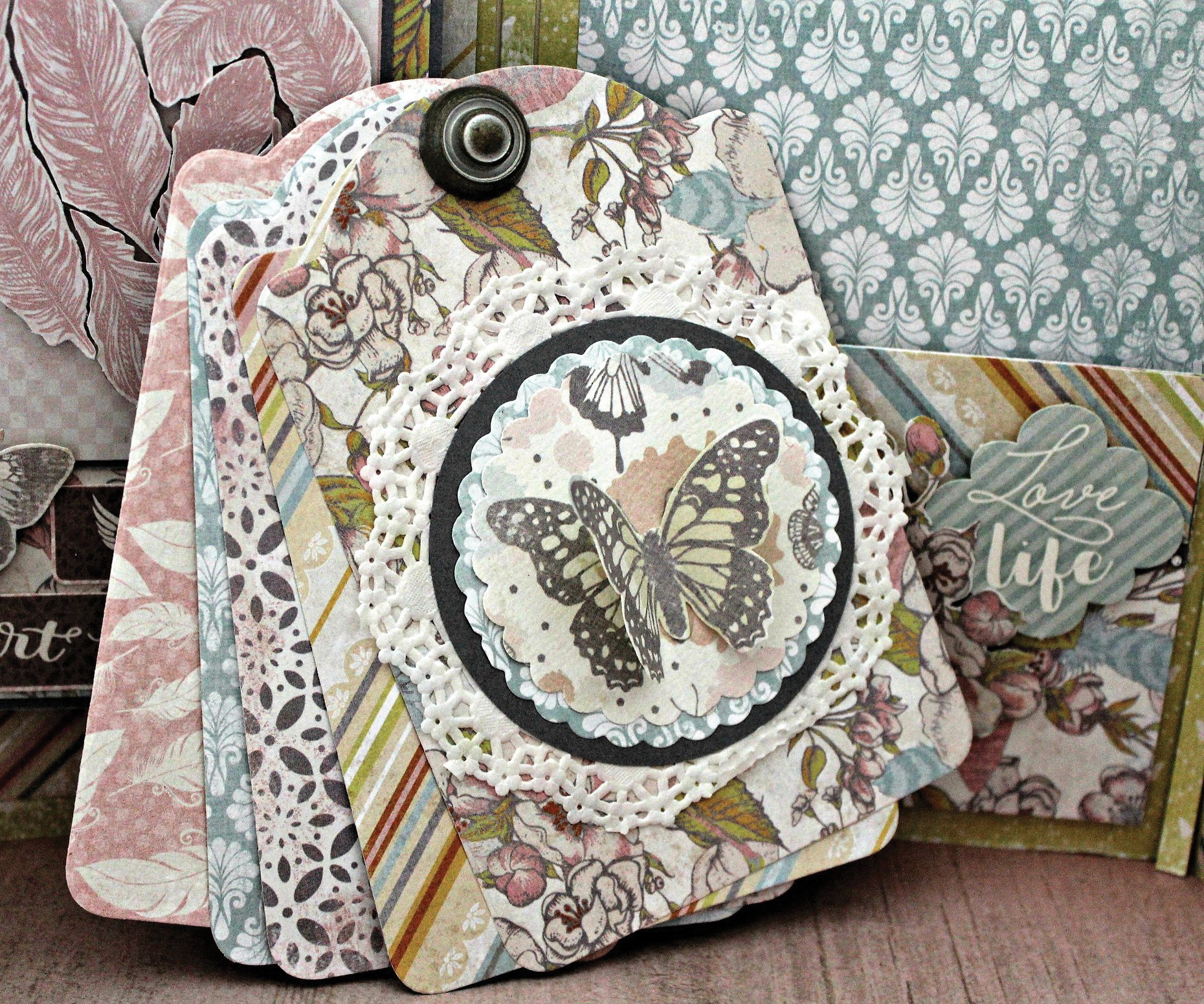 Authentique Double-Sided Cardstock Pad 12X12 18/Pkg-Dreamy, 6 Designs/3 Each