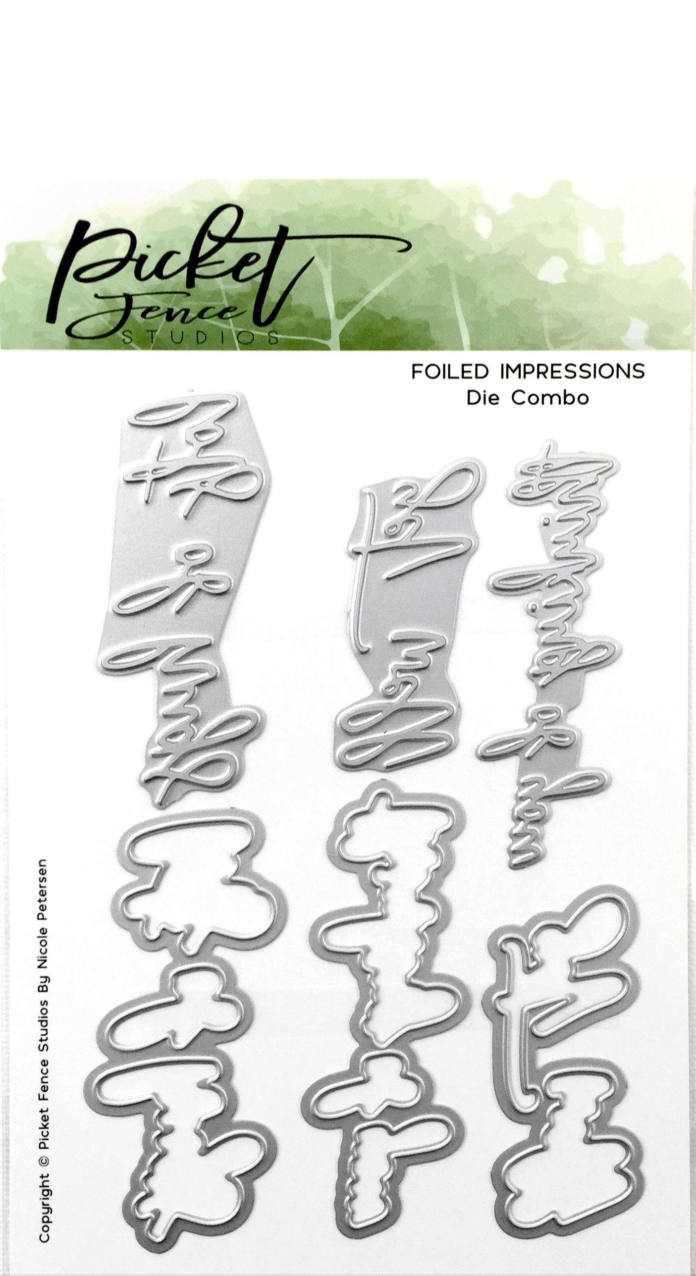 PF Foiled Impressions Get Well