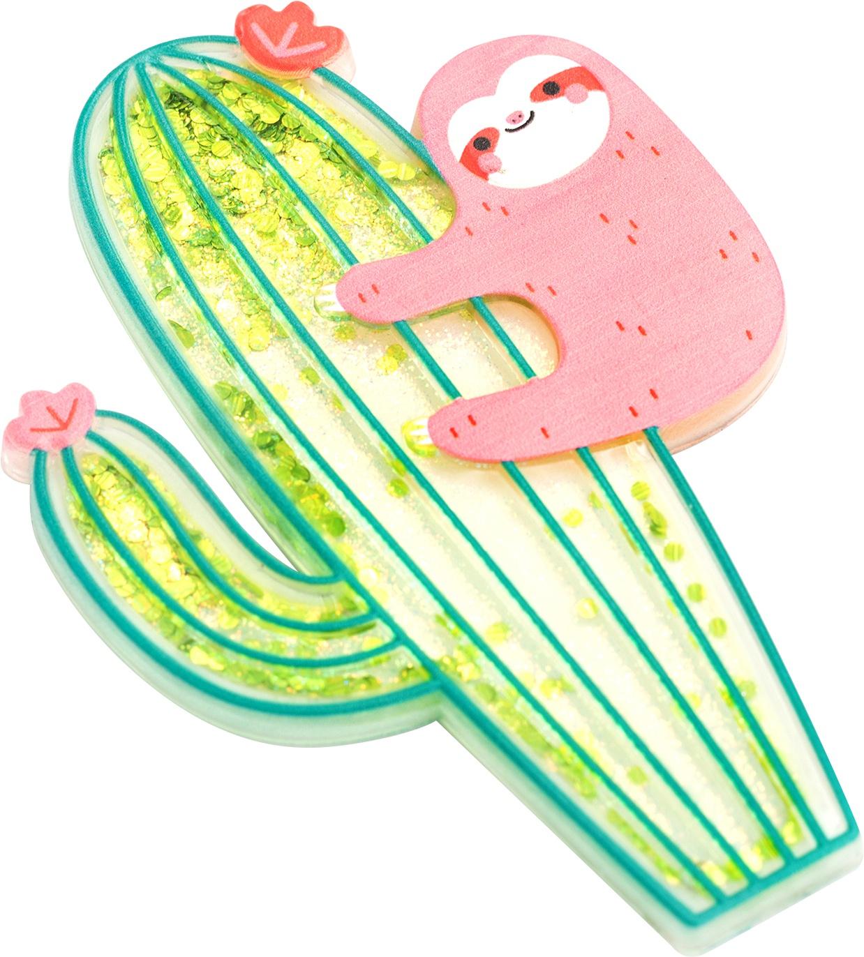 AC Floaty Stickers Sloth/Cactus