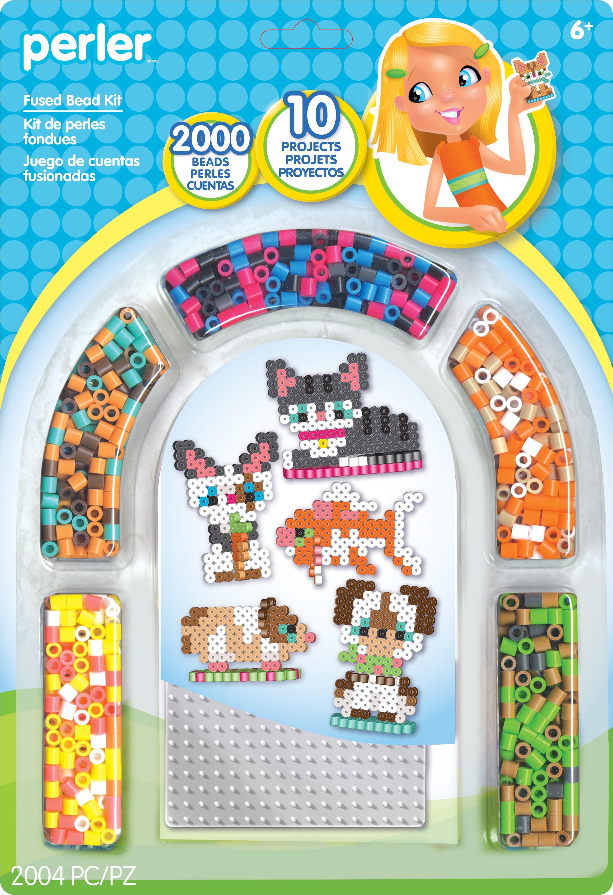 Perler Fused Bead Kit-Pets