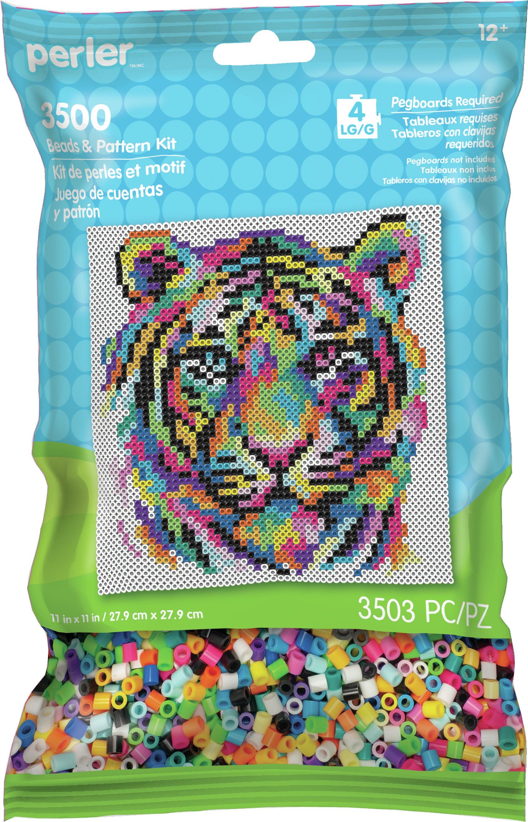 Perler Pattern Bag-Rainbow Tiger