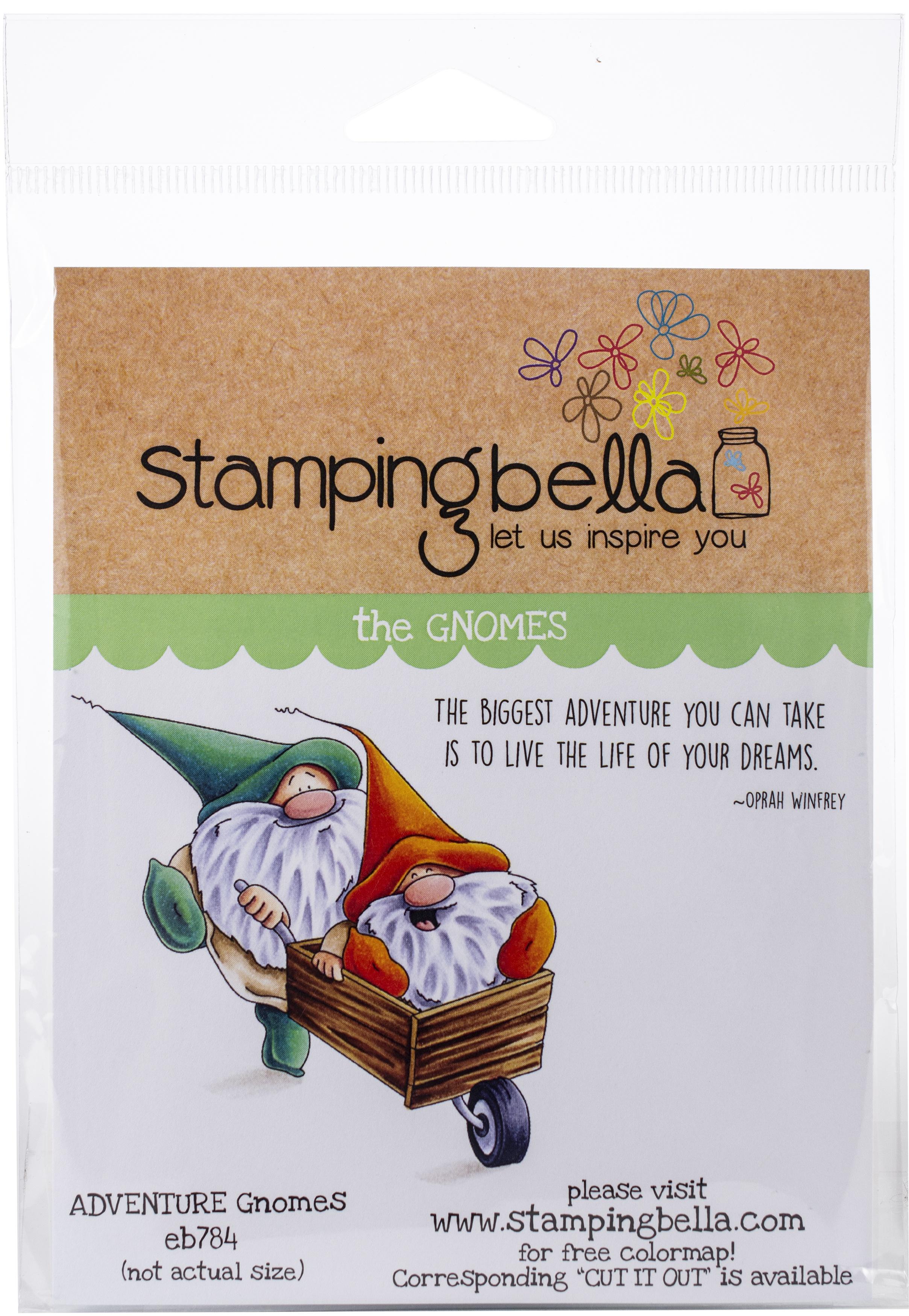 Adventure Gnomes Stamp Set