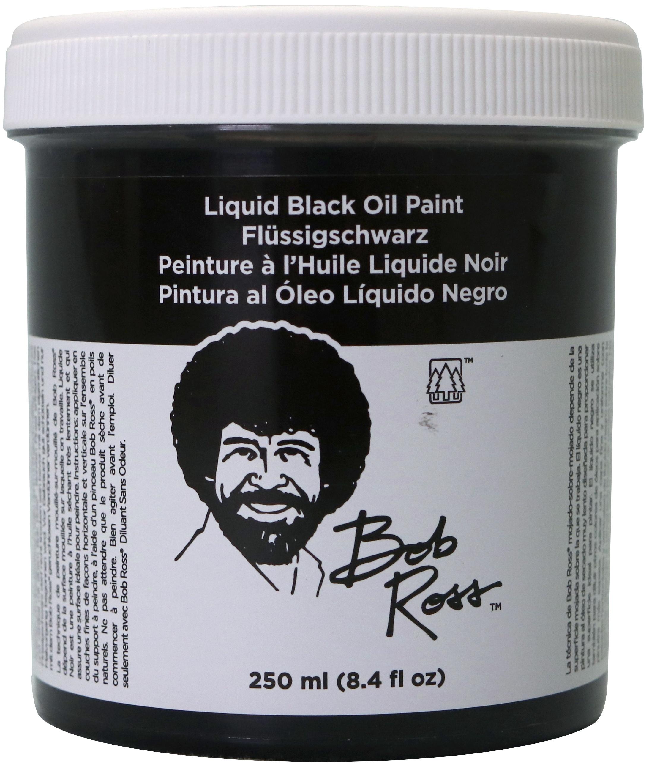 BOB ROSS OIL 250ML LIQUID BLK