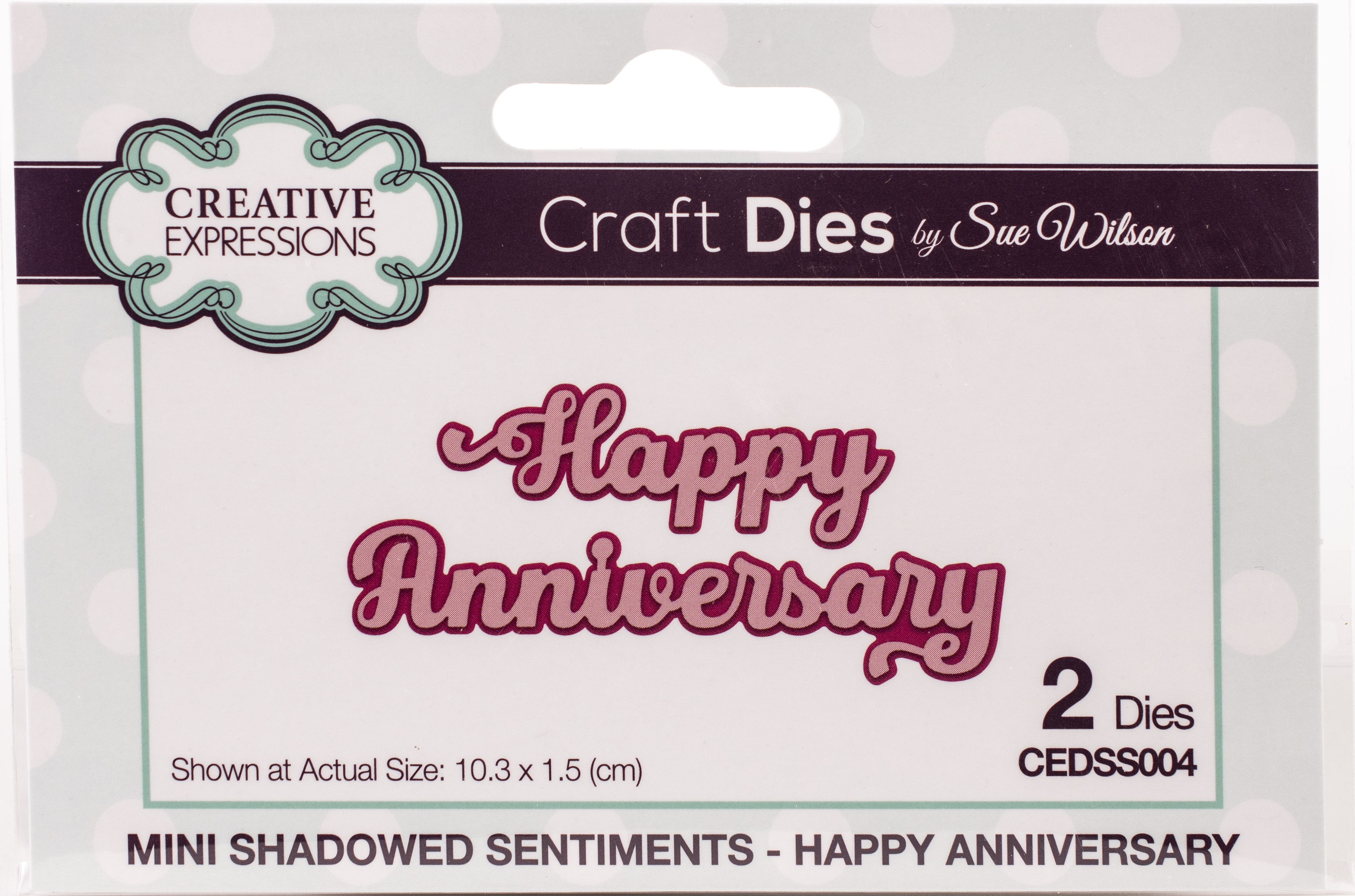 Creative Expressions Craft Dies By Sue Wilson-Mini Expressions- Always In My Hea... - copy - copy