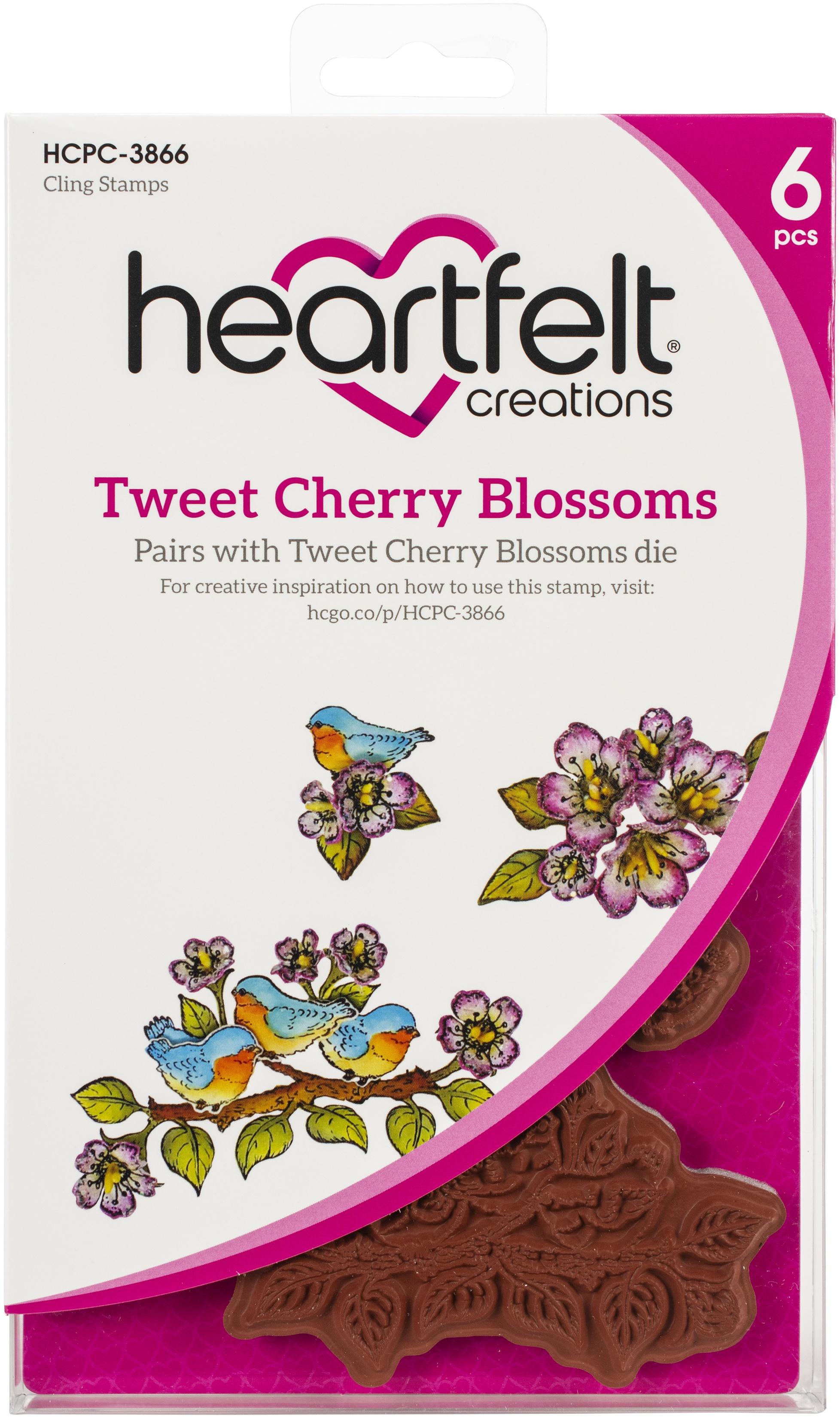 Tweet Cherry Blossoms Stamp Set