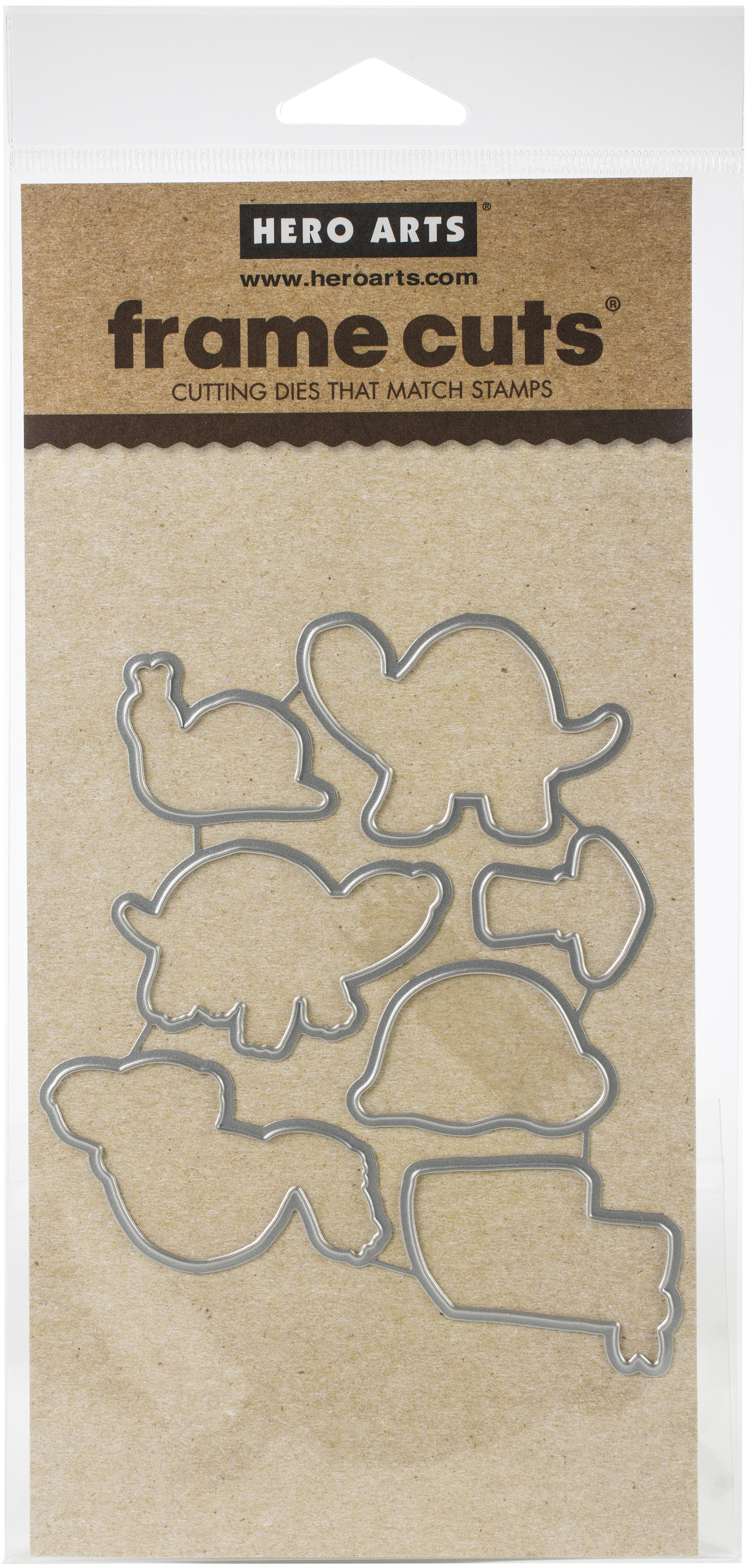 Hero Arts Frame Cut Dies-Pet Turtle