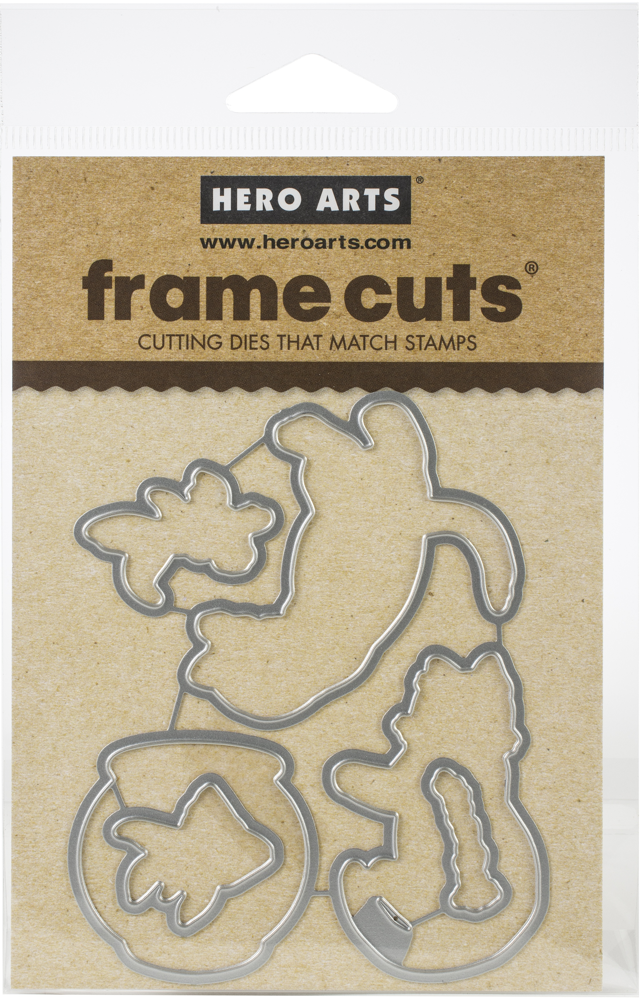 Hero Arts Frame Cut Dies-Curious Cat