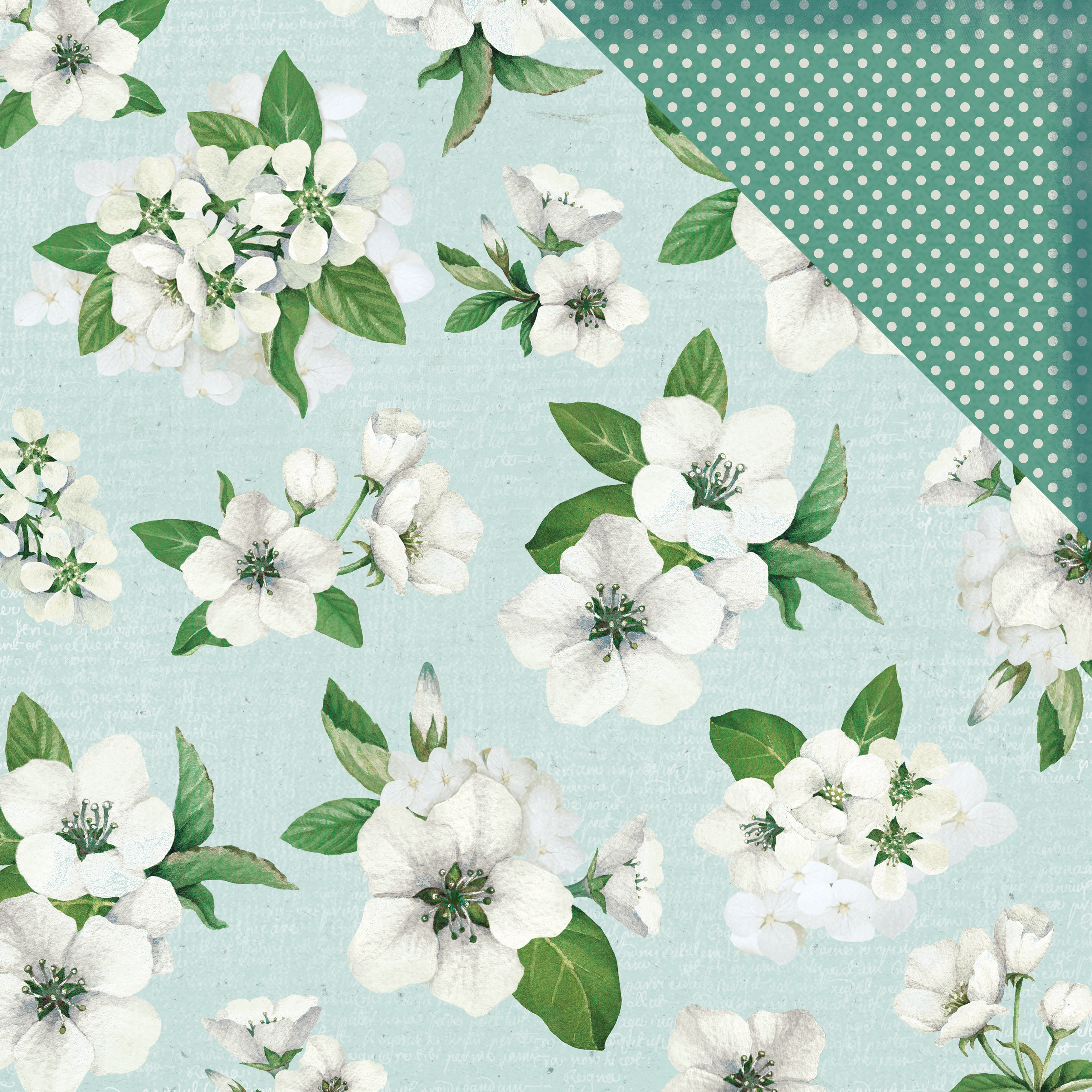 Morning Dew Double-Sided Cardstock 12X12-Serene