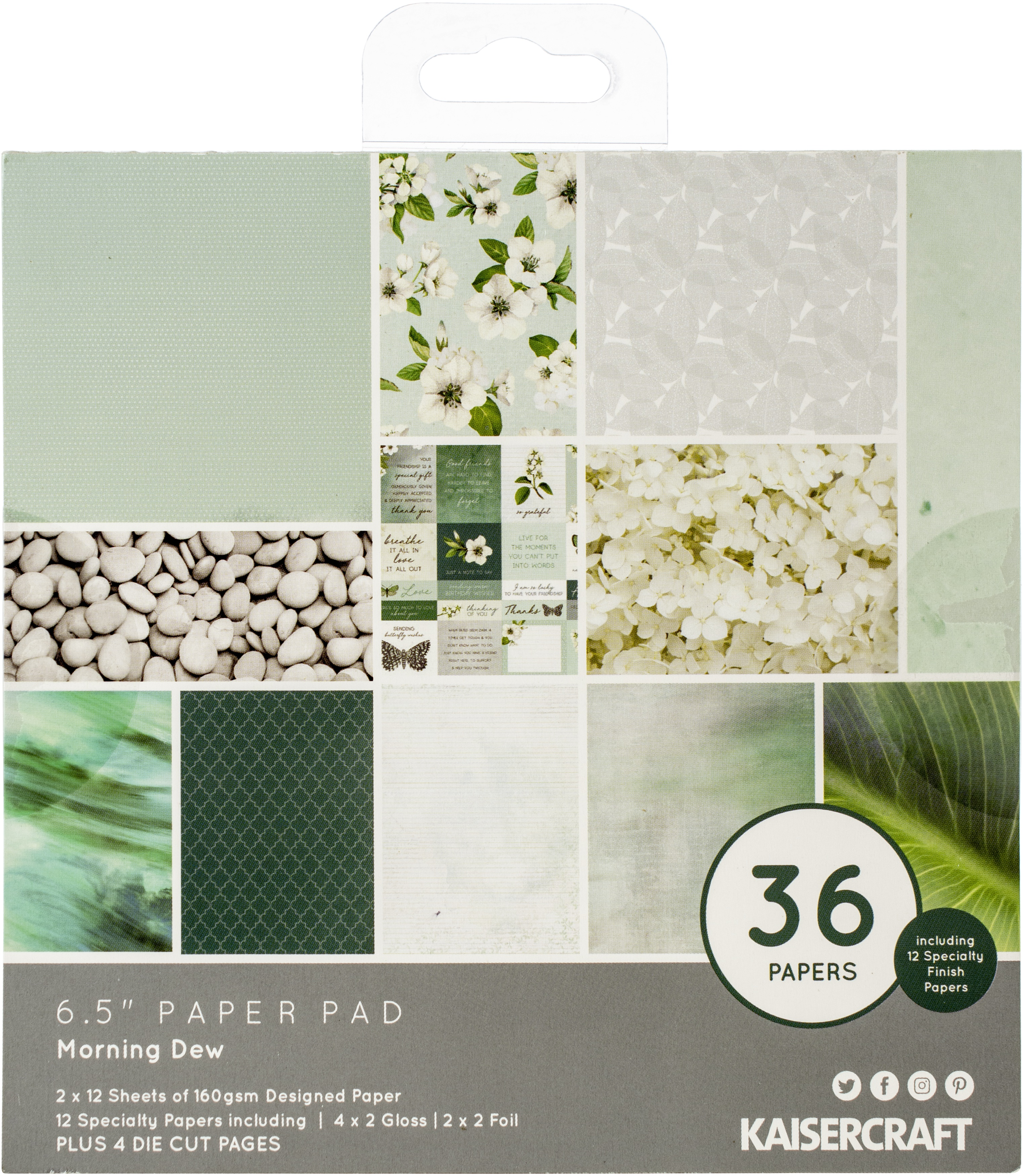 Kaisercraft - Morning Dew - 6.5 Paper Pad