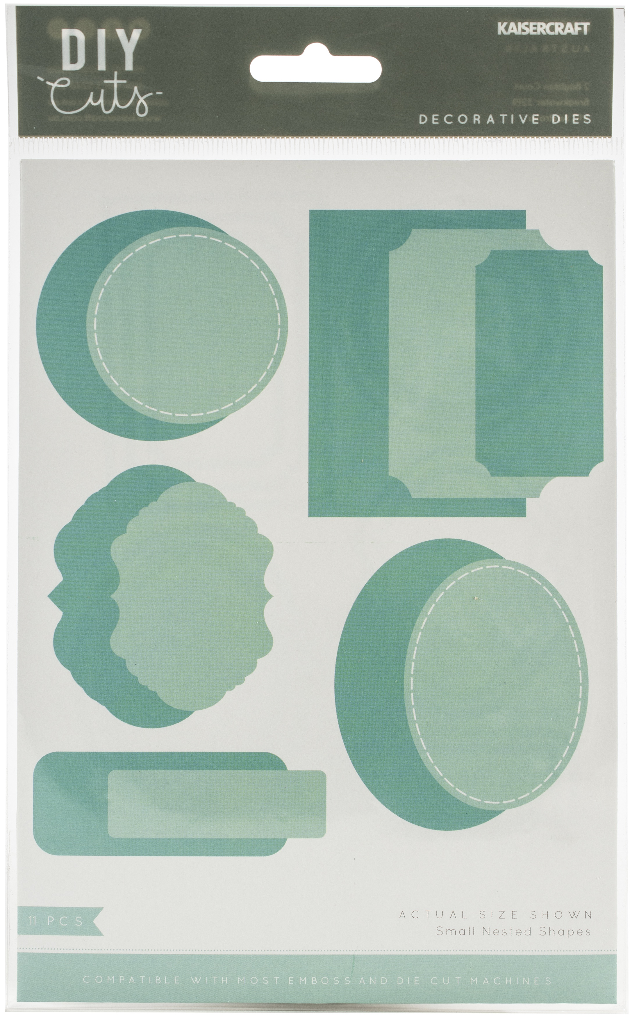 Kaisercraft Decorative Die-Small Nested Shapes