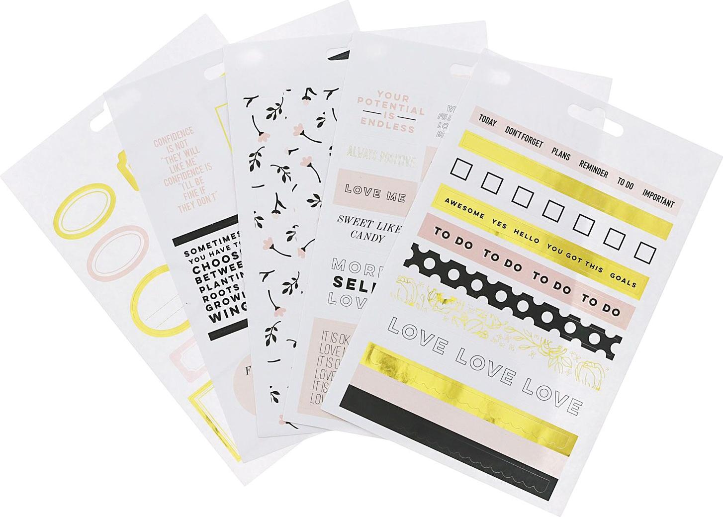Teresa Collins Designer Stickers 5/Sheets-Labels