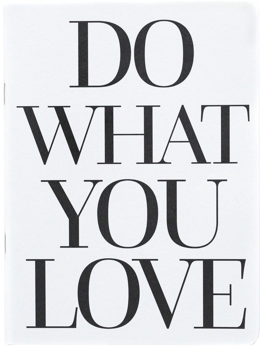 Teresa Collins Designer Notebook 6X8-Do What You Love
