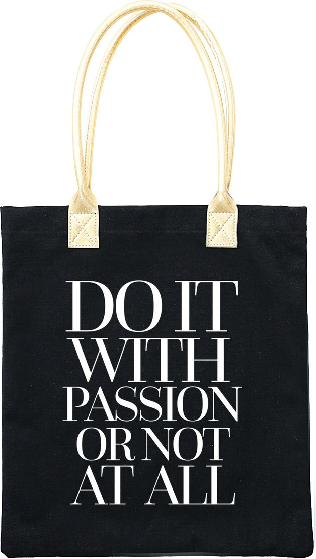 Teresa Collins Totebag 16X13-Do It With Passion