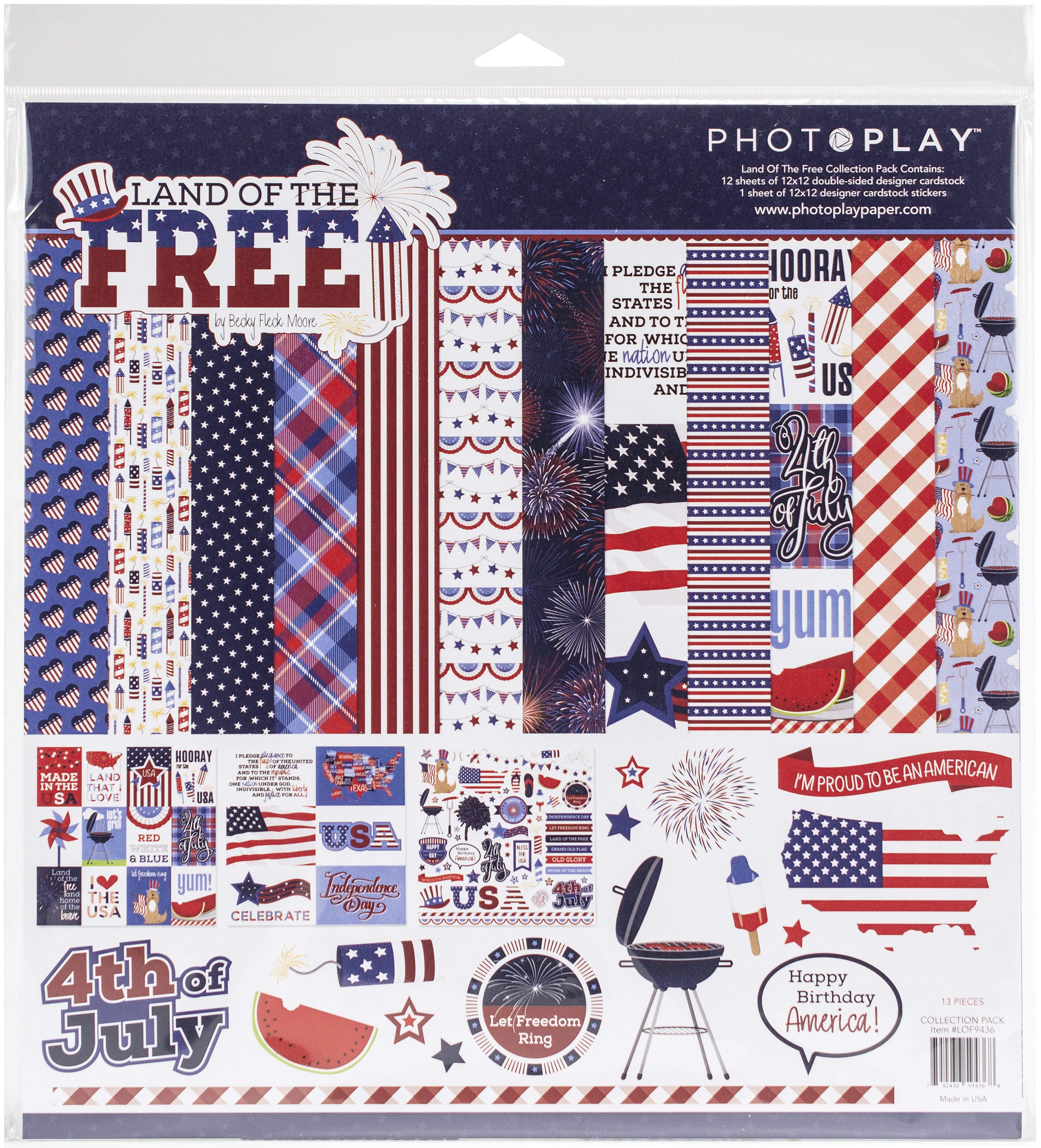 Photo Play Land of the Free Collection Pack
