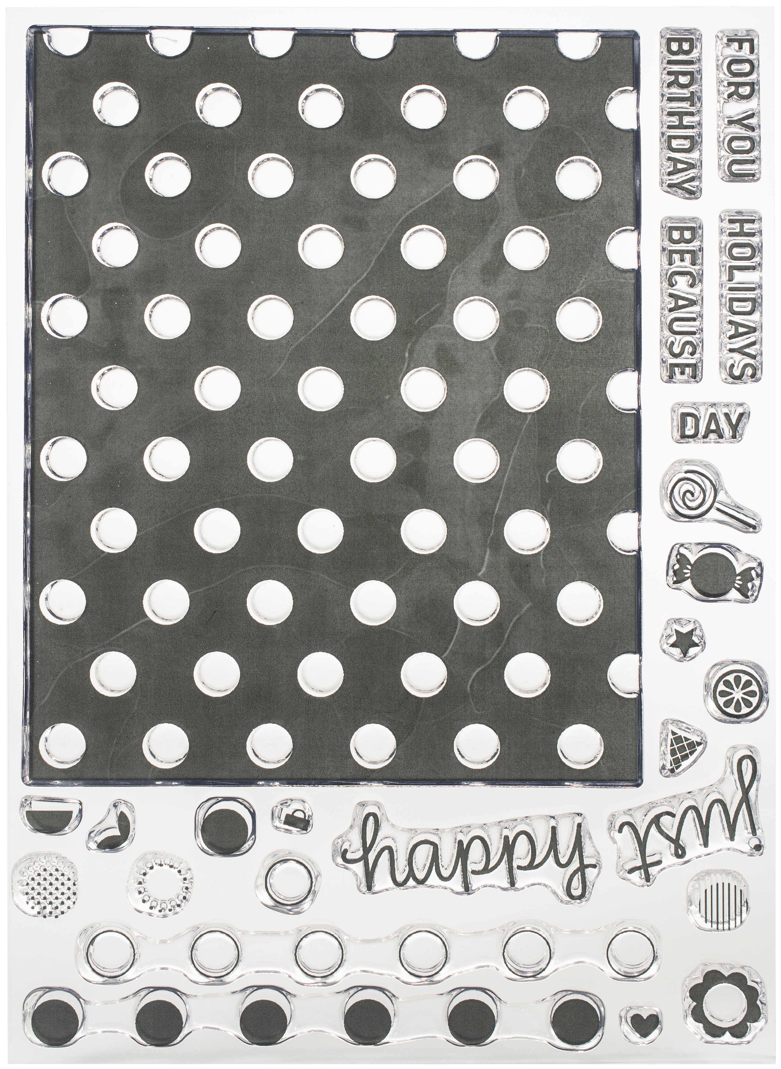 Concord & 9th Dotted Fill In Stamp Set