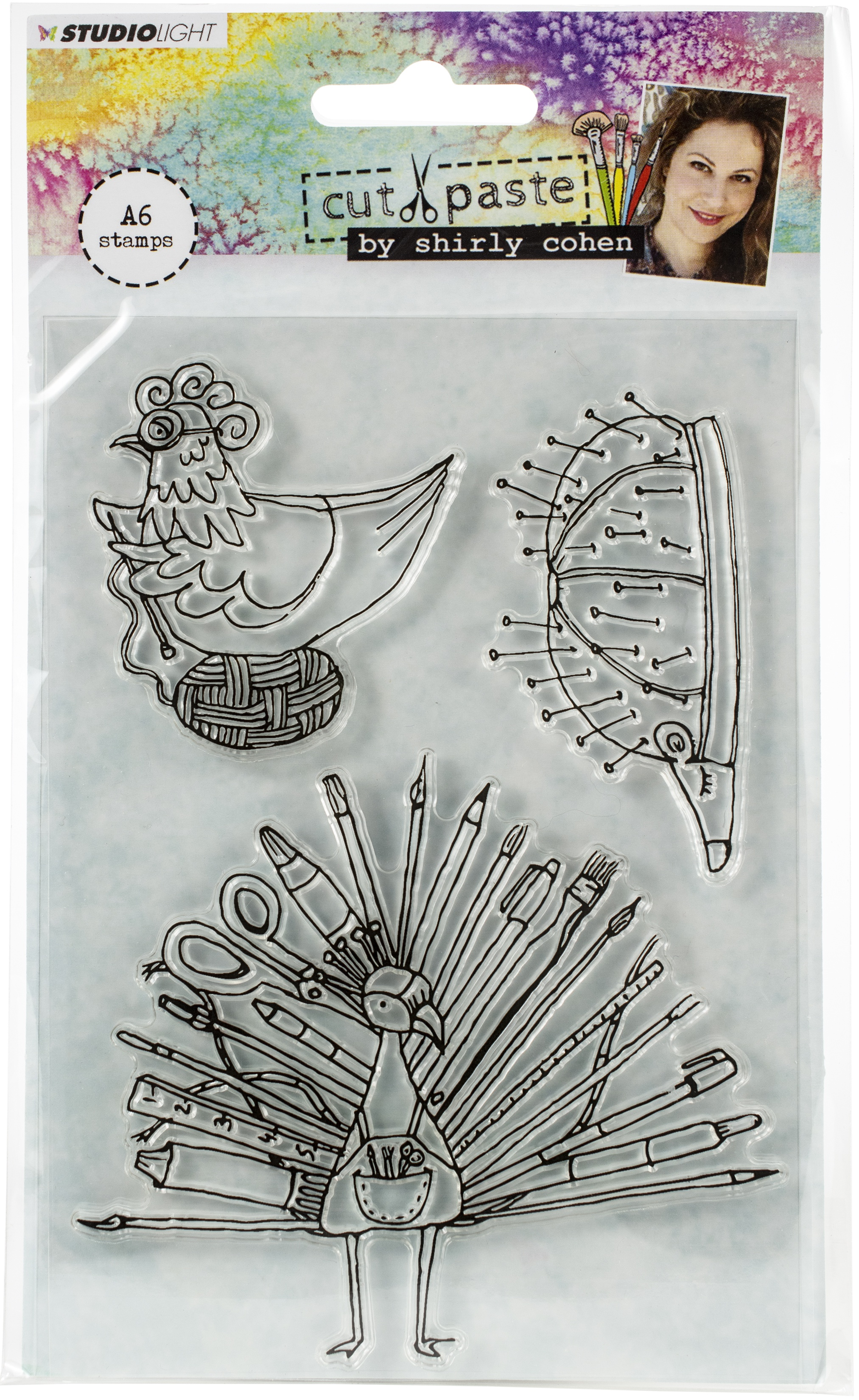 Studio Light Shirly Cohen Stamps A6-NR. 04