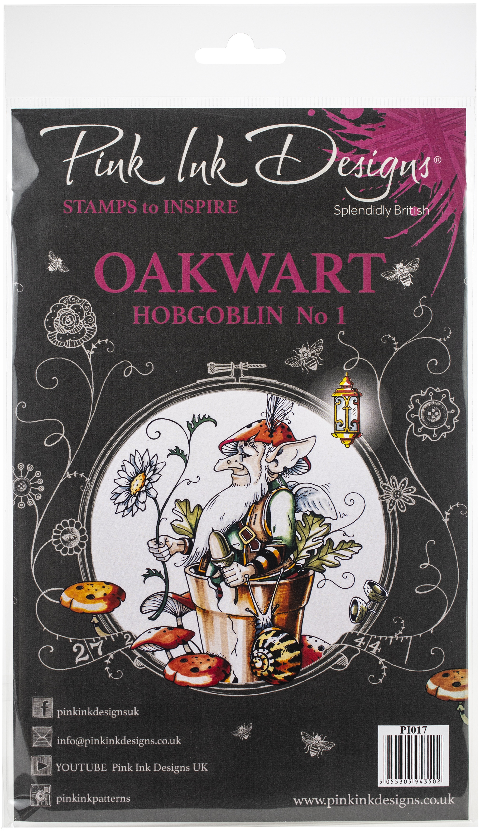 Pink Ink Designs A5 Clear Stamp Set-Oakwart Hobgoblin 1