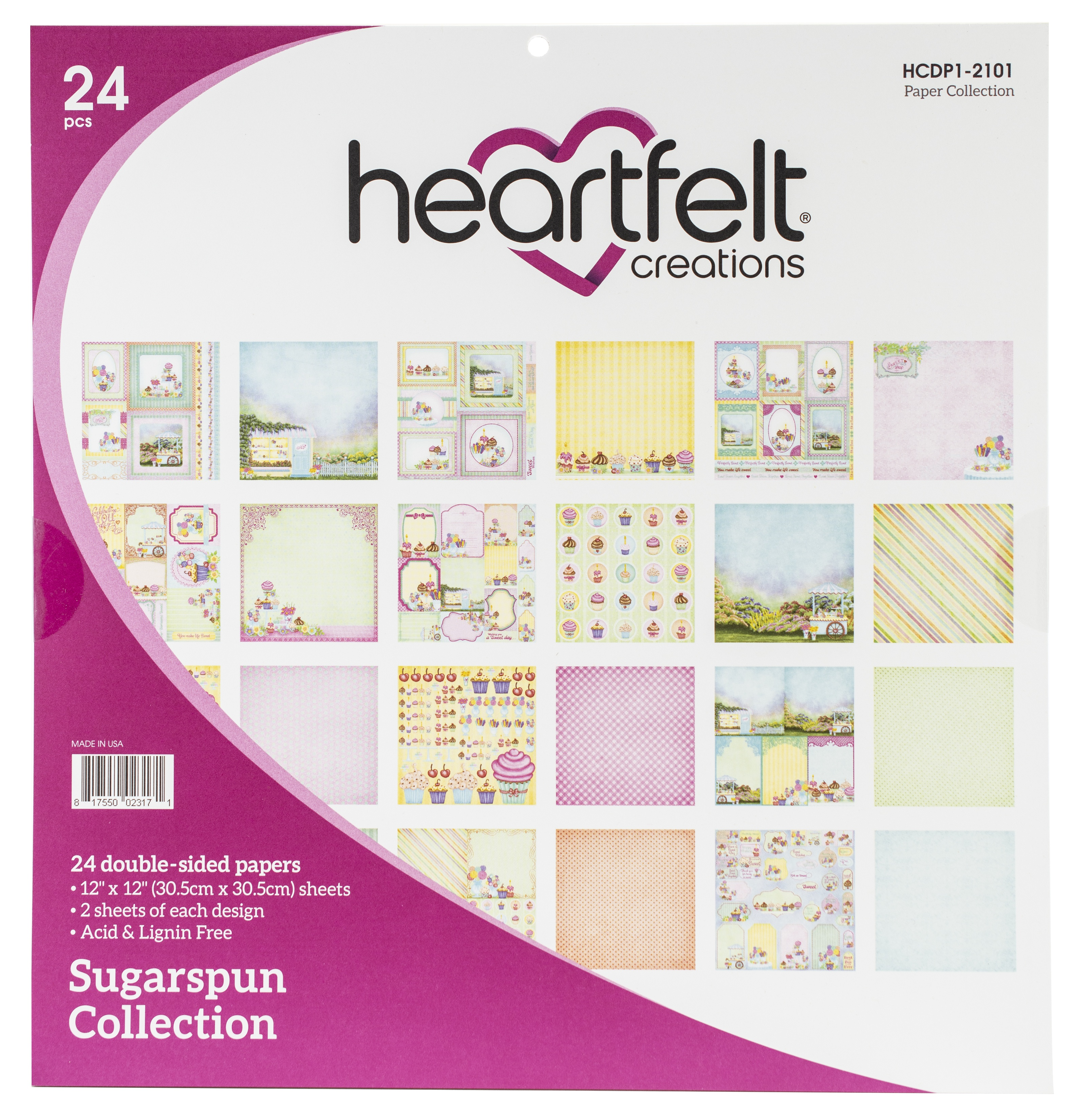 Sugarspun Paper Pad 12x12