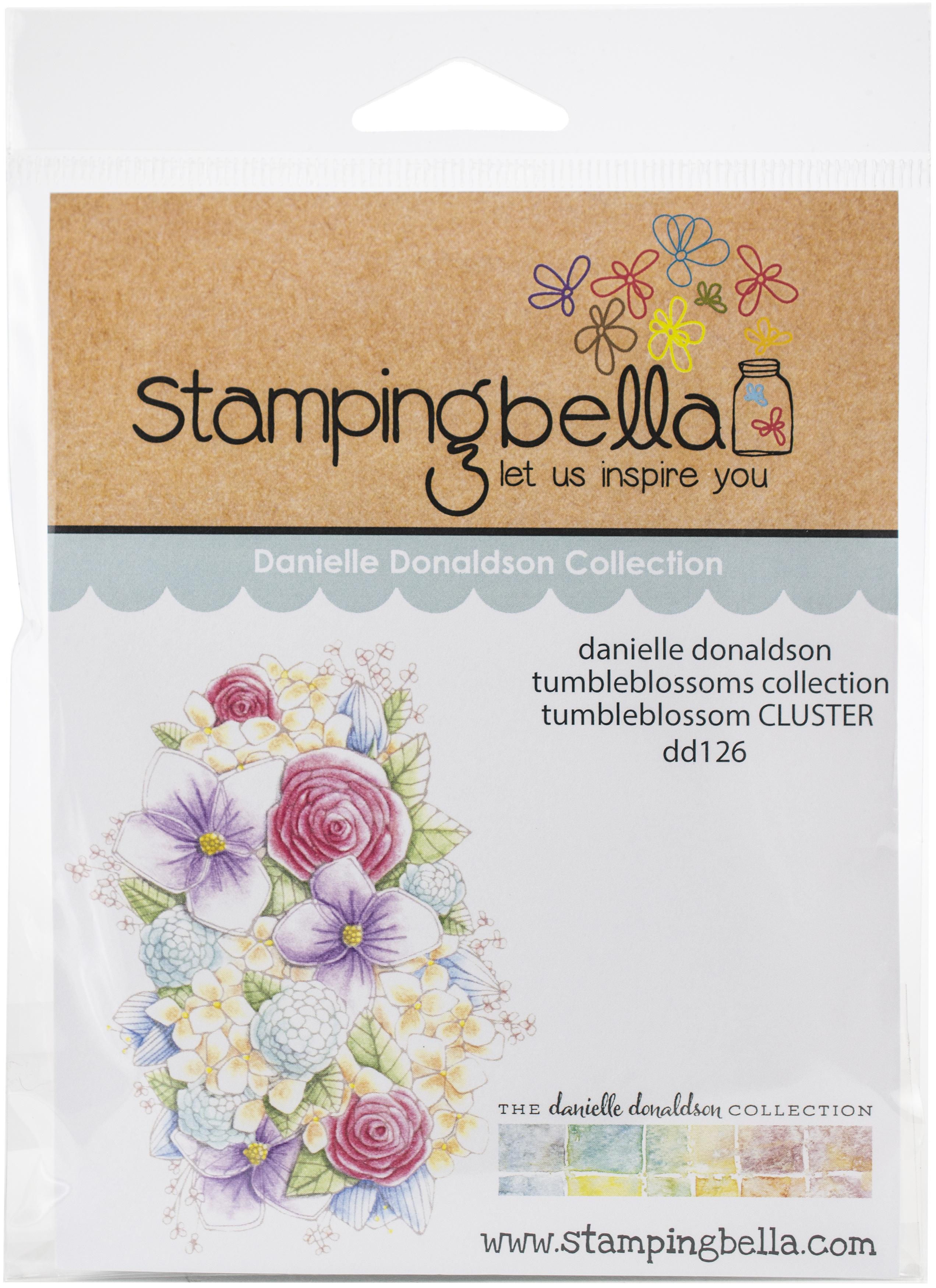 Danielle Donaldson Stamps-Tumbleblossom Cluster