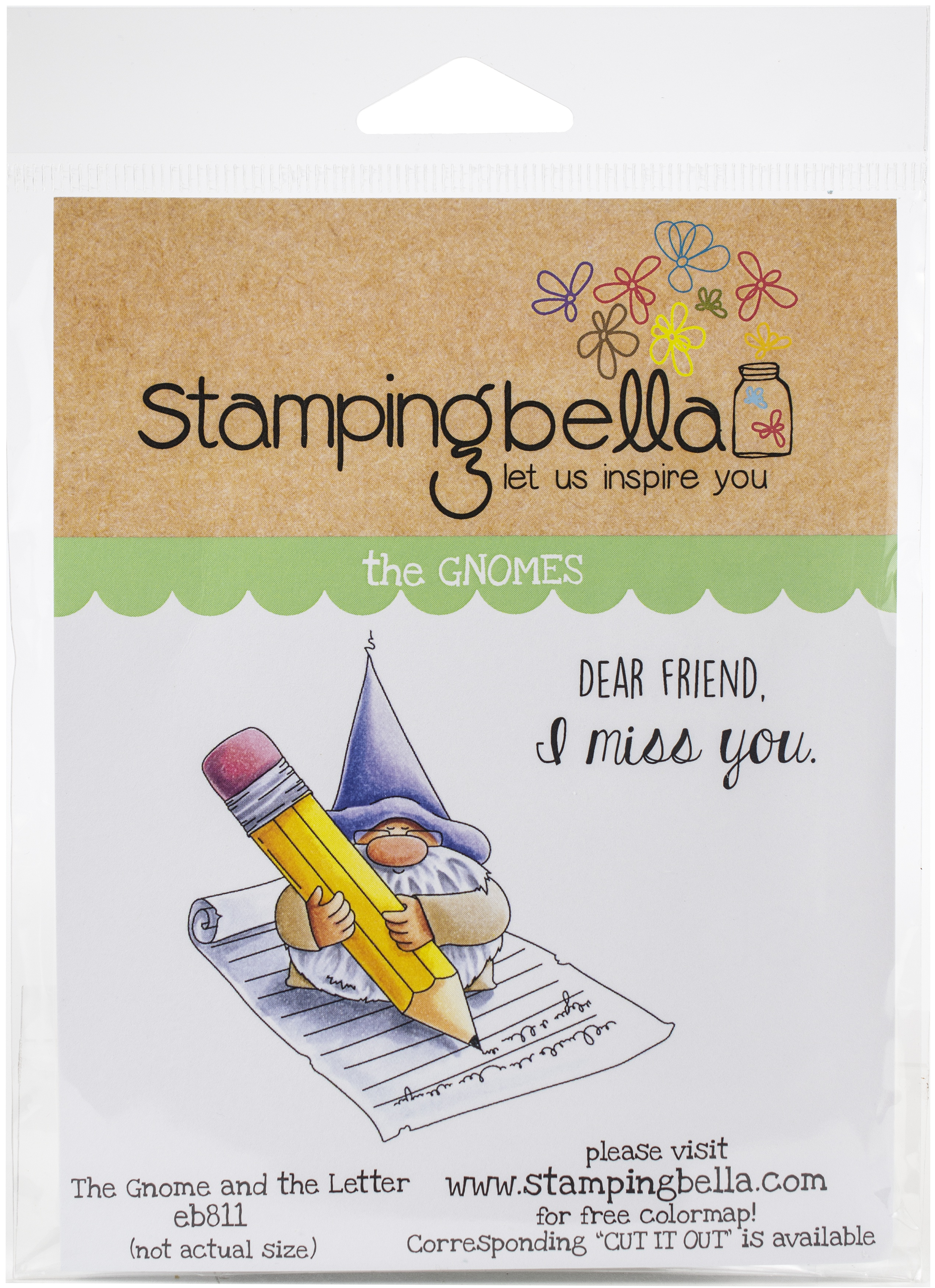 Gnome & The Letter Stamp Set