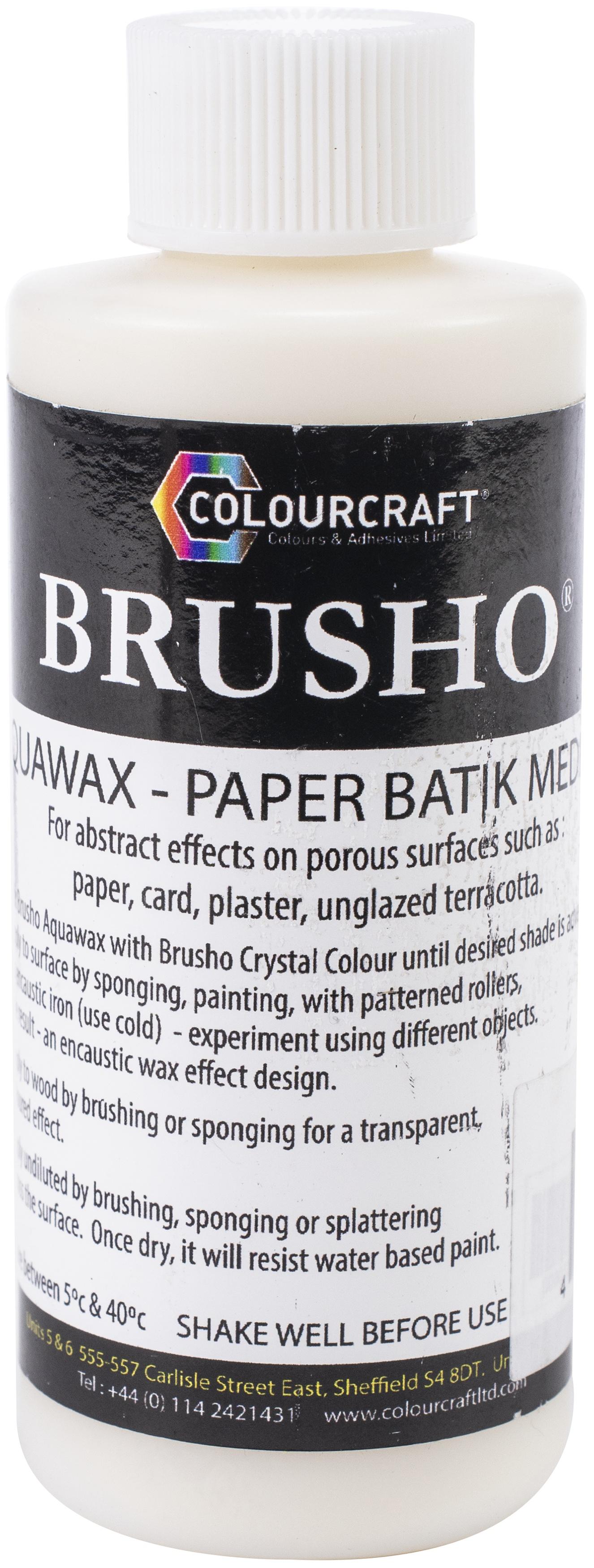 Brusho Aquawax Resist 100ml-