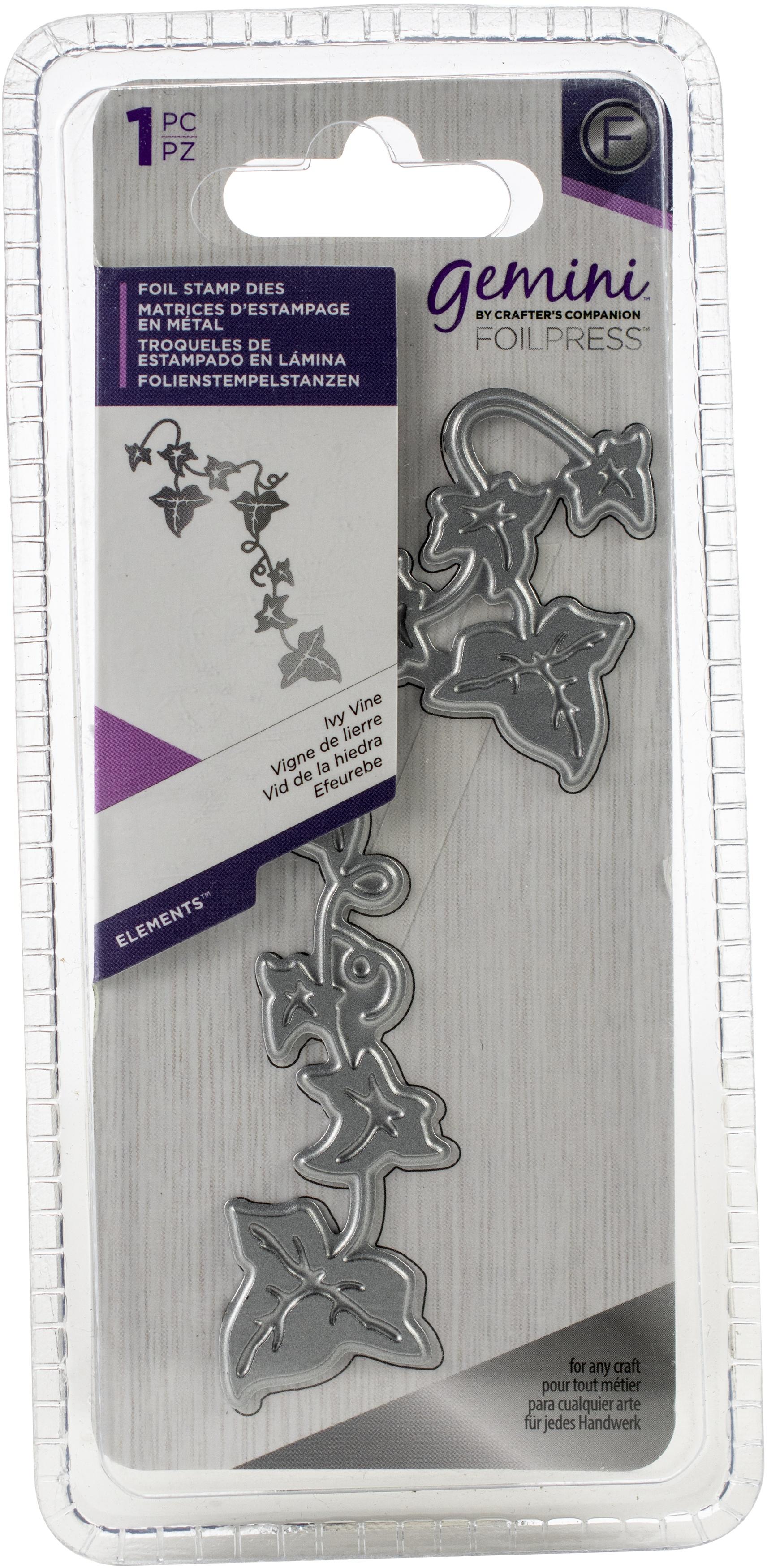 Gemini Foilpress - Foil Stamp Dies - Ivy Vine