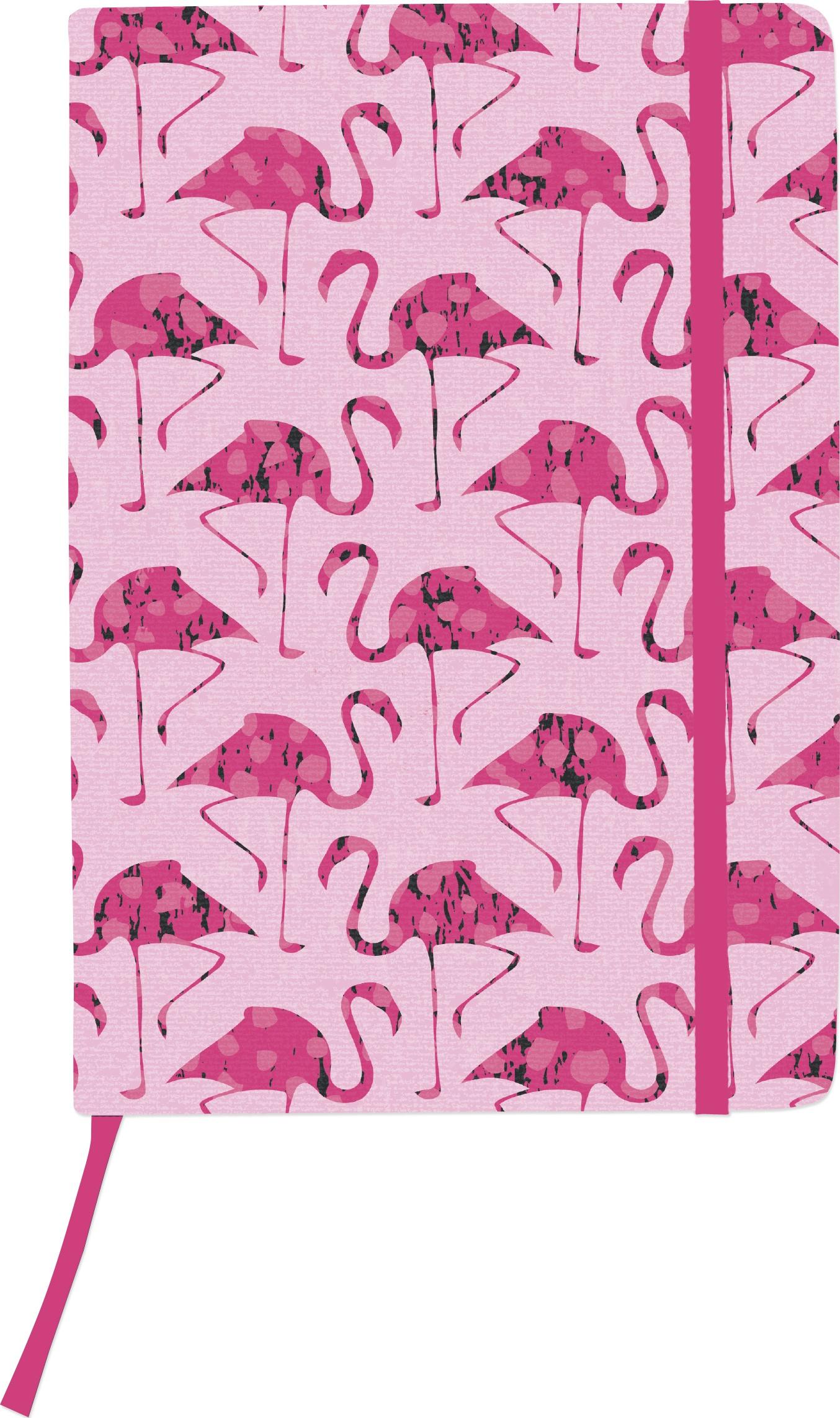 Kaiser Style Medium Journal 5.70X8.25-Flamingos