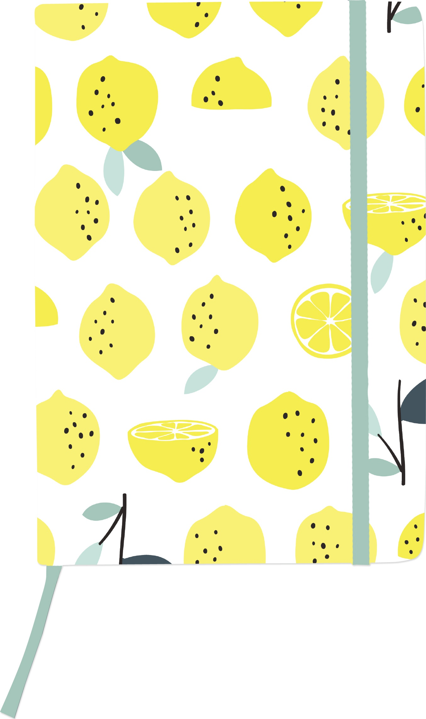 Kaiser Style Medium Journal 5.70X8.25-Lemons