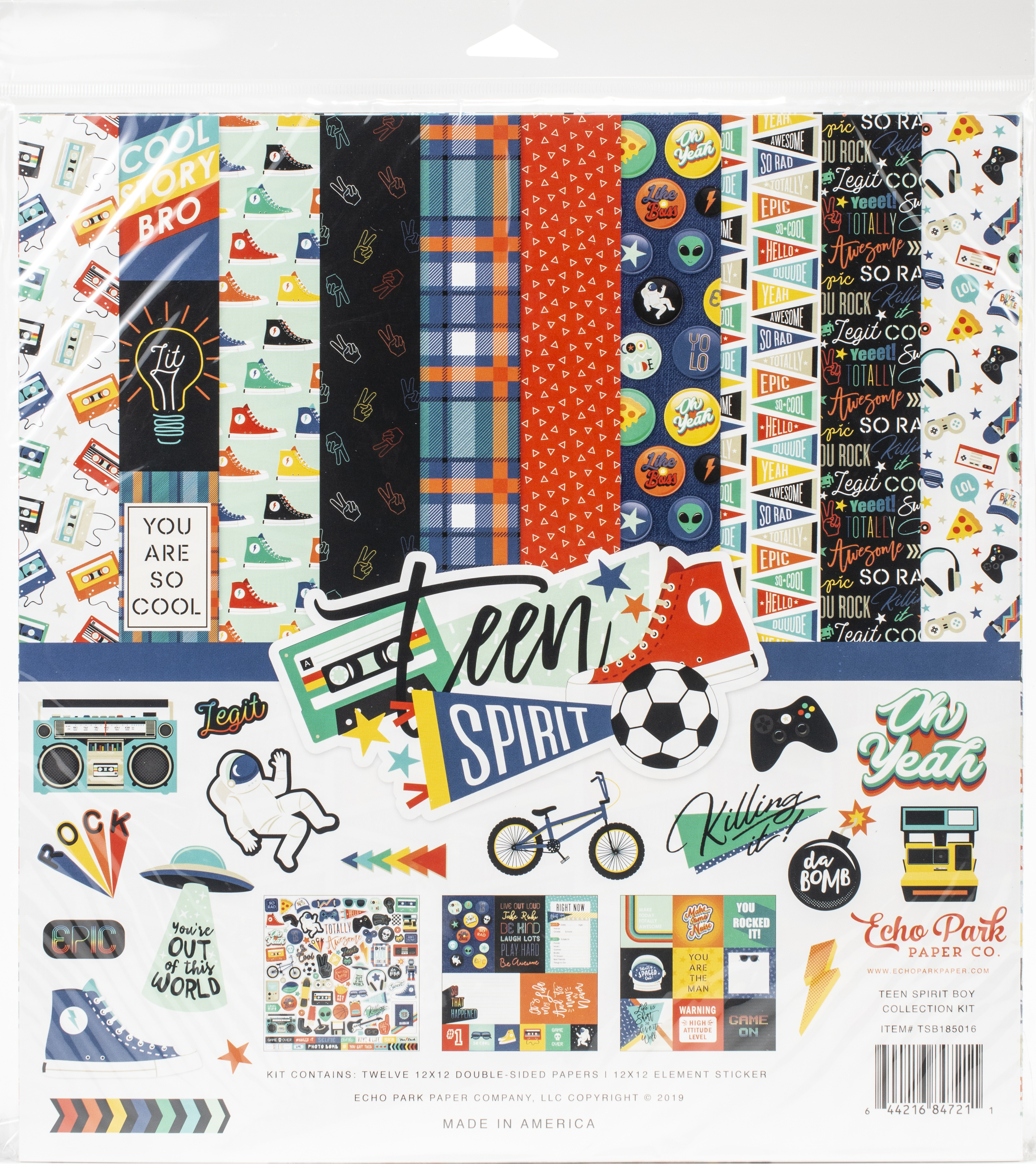 Teen Spirit Collection Kit 12X12