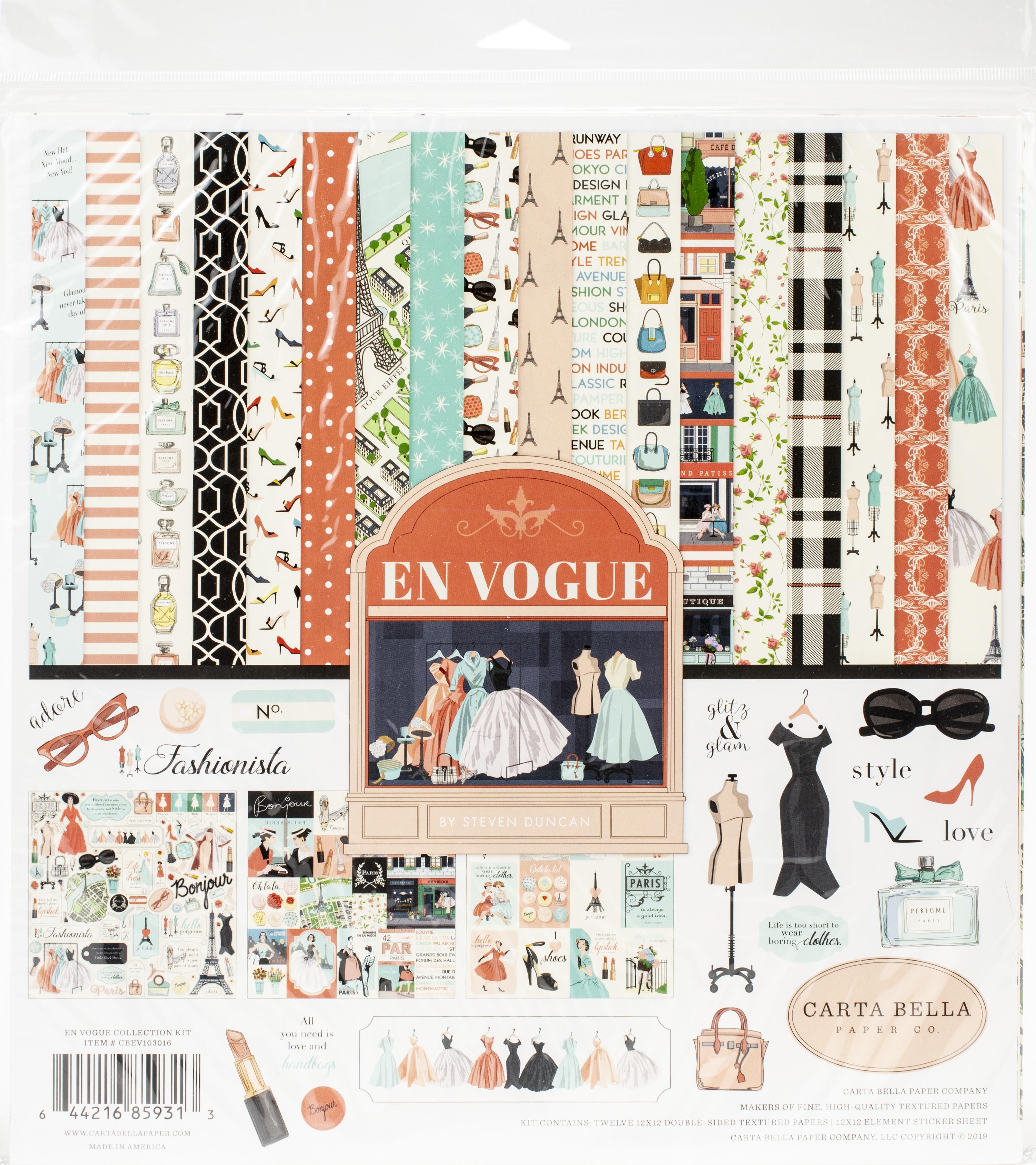 Carta Bella Collection Kit 12X12-En Vogue