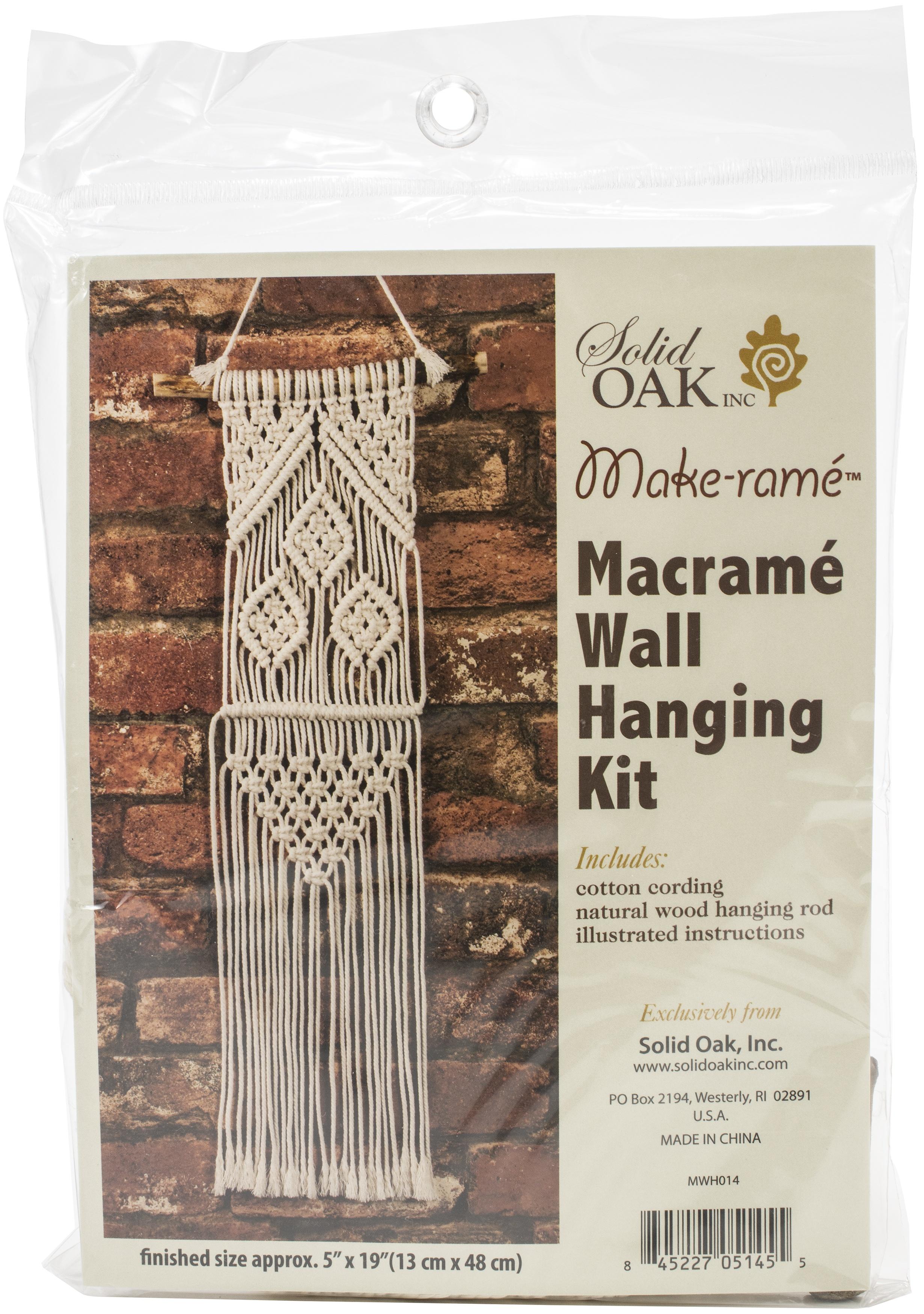 MACRAME WALL HANGING #014