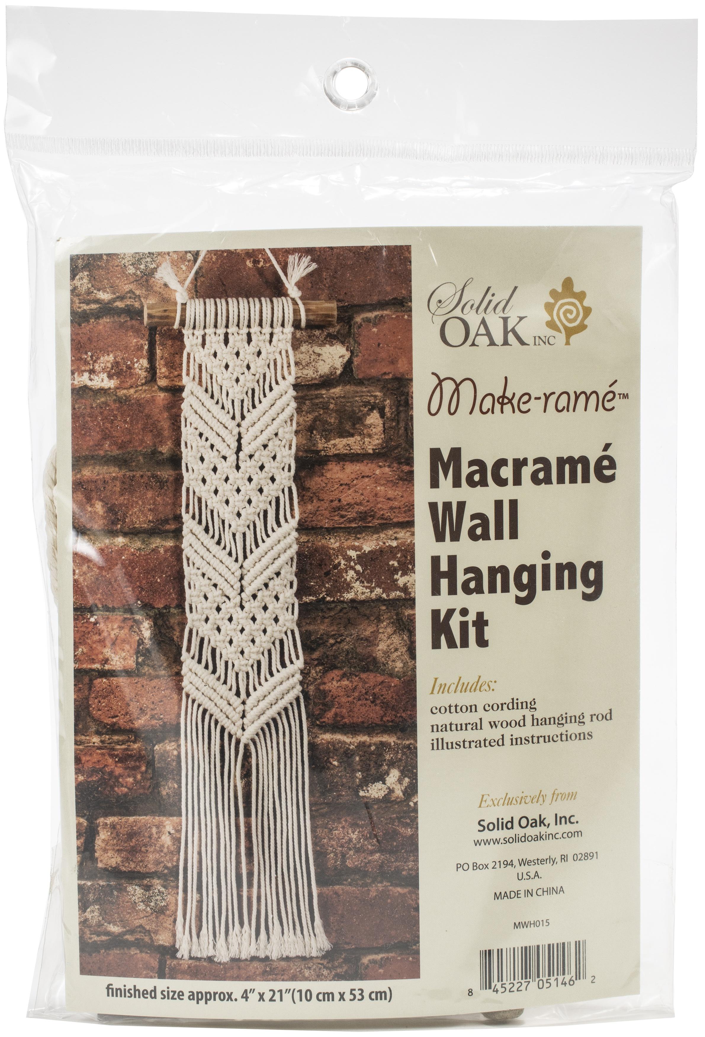 MACRAME WALL HANGING #015